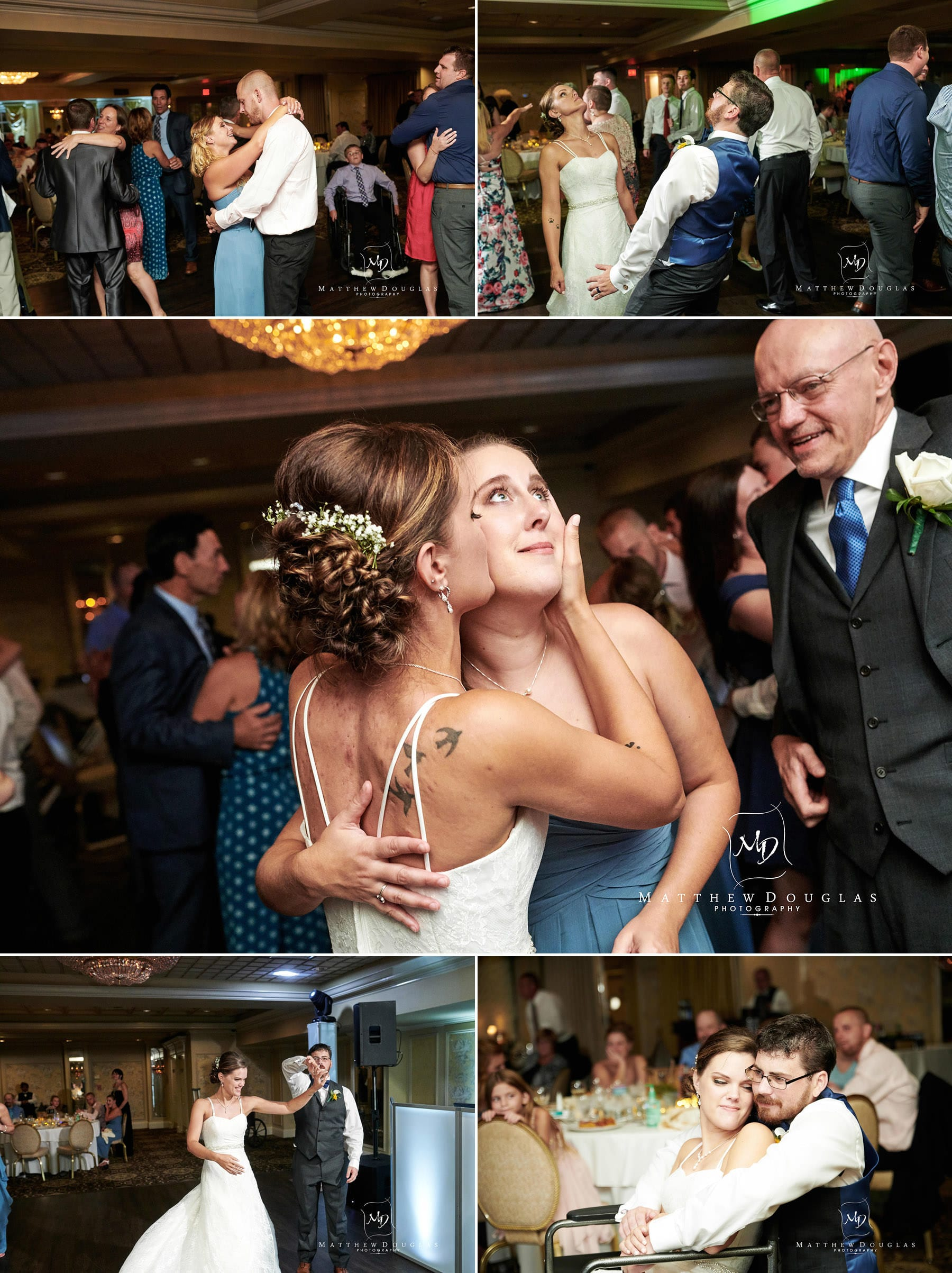 olde mill inn wedding dance floor photos