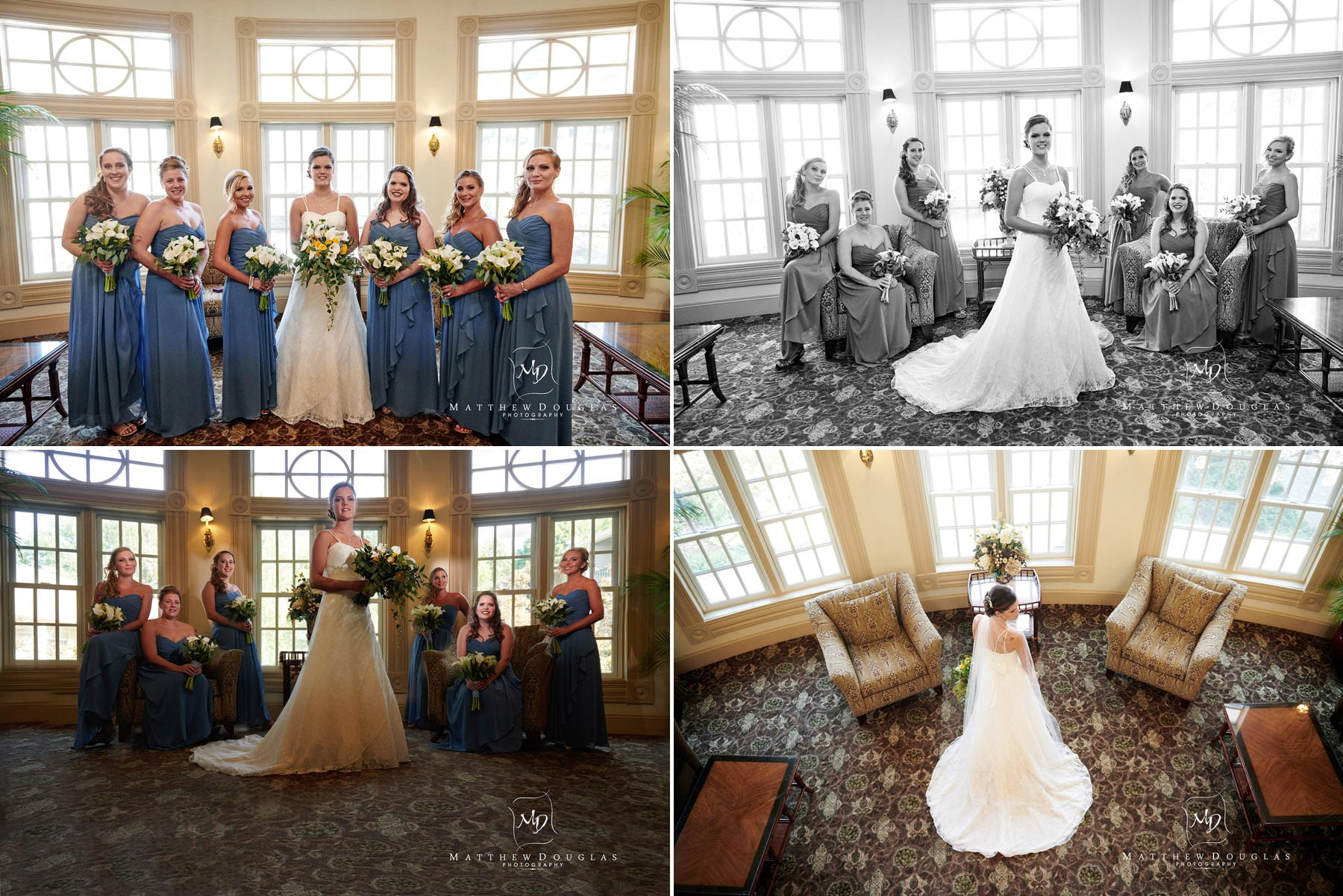 olde mill inn wedding bride pictures
