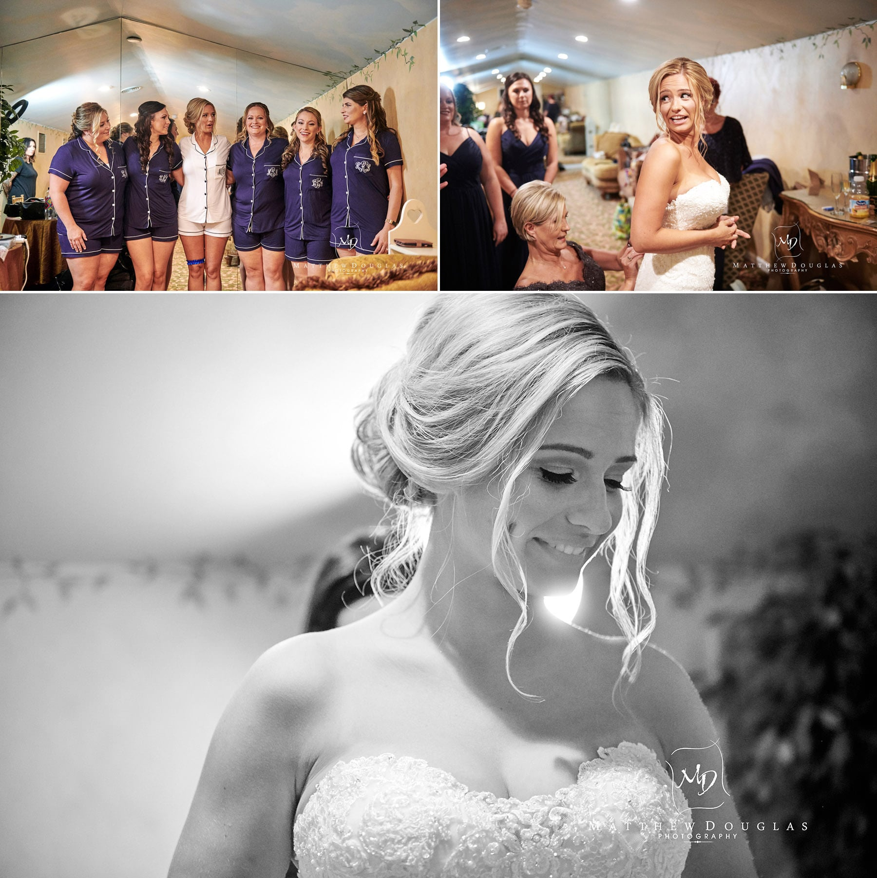 Chandelier Flanders Valley Wedding bridesmaids