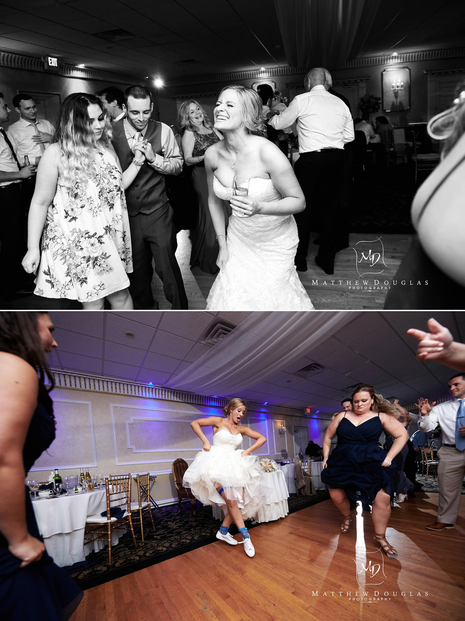Chandelier Flanders Valley Wedding bride dancing photos