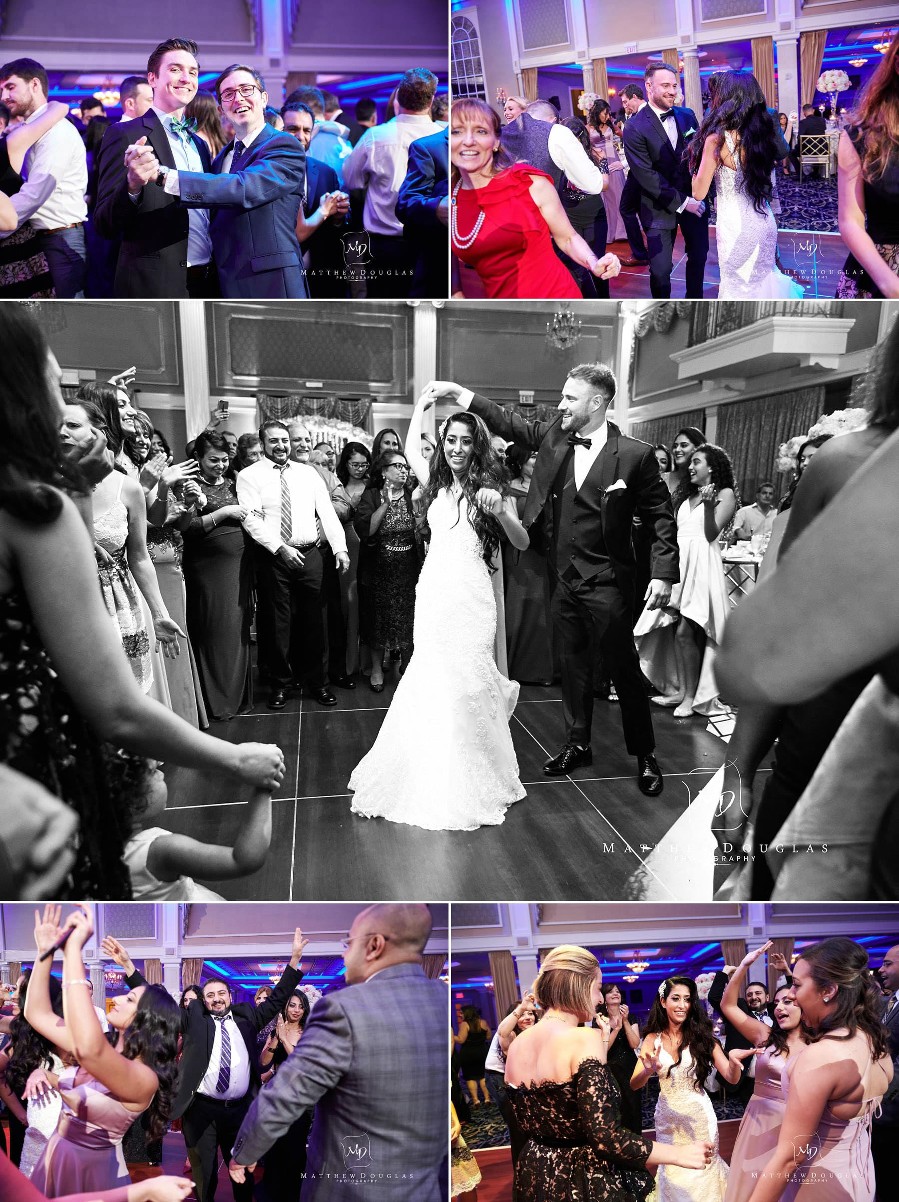 packed wedding dance floor the palace at somerset park