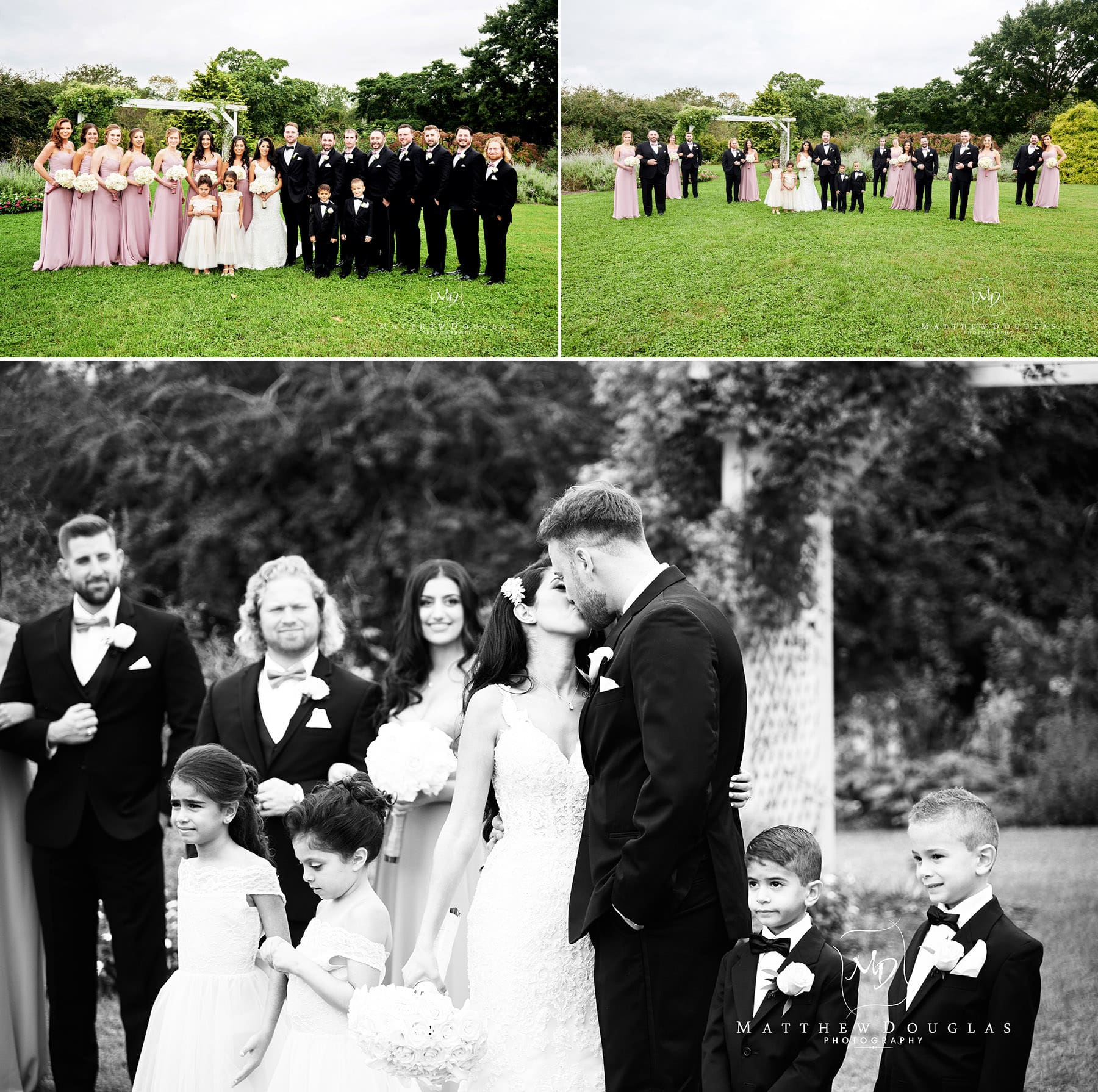 colonial park wedding photos