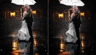 bernards inn wedding rain photos