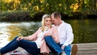colonial park somerset engagement photo