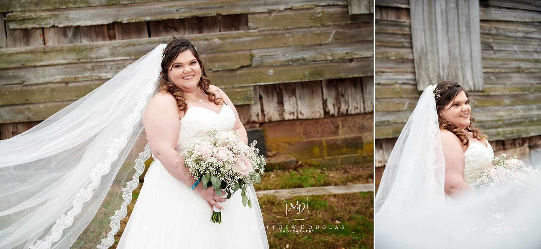 bride at neshanic valley golf course wedding