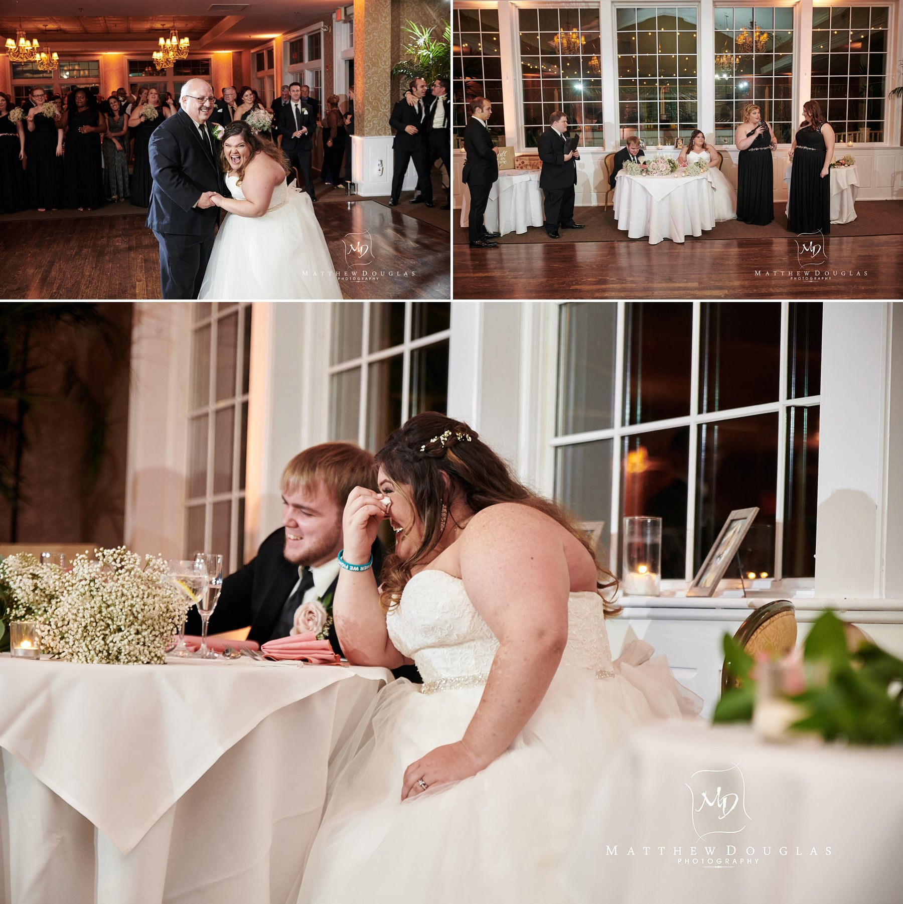neshanic valley golf course wedding toast photos