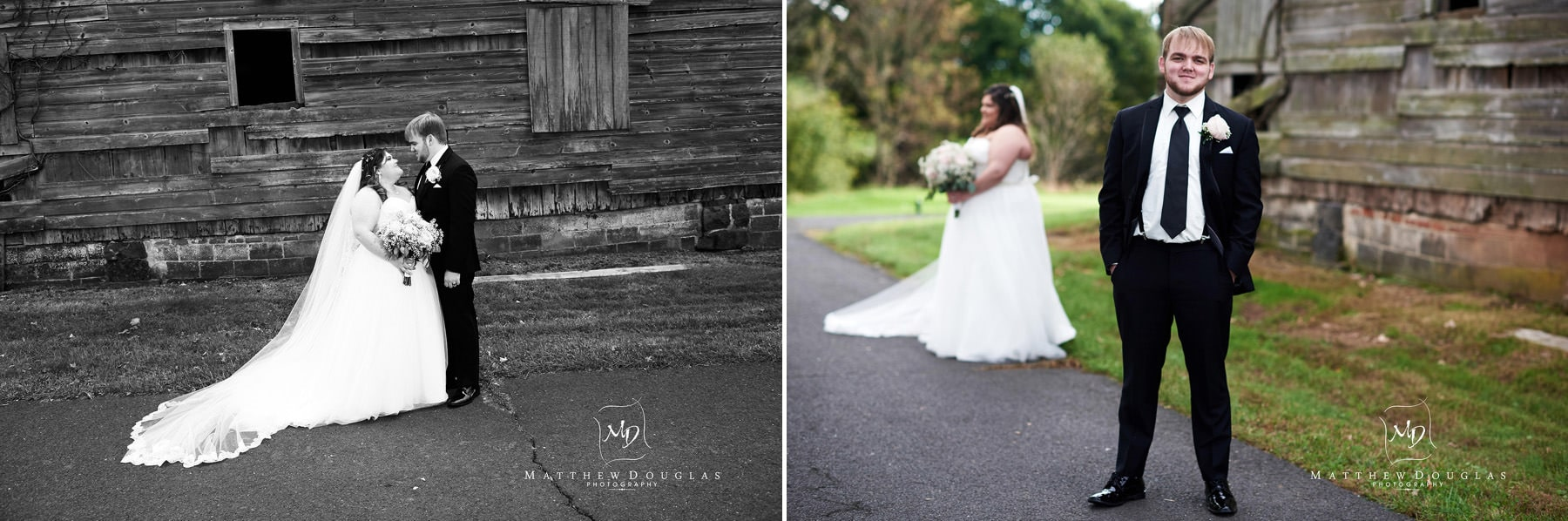 neshanic valley golf course wedding photos