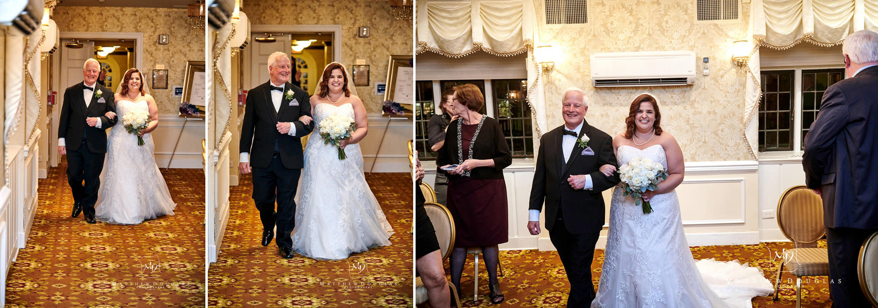 Nassau Inn wedding ceremony photo