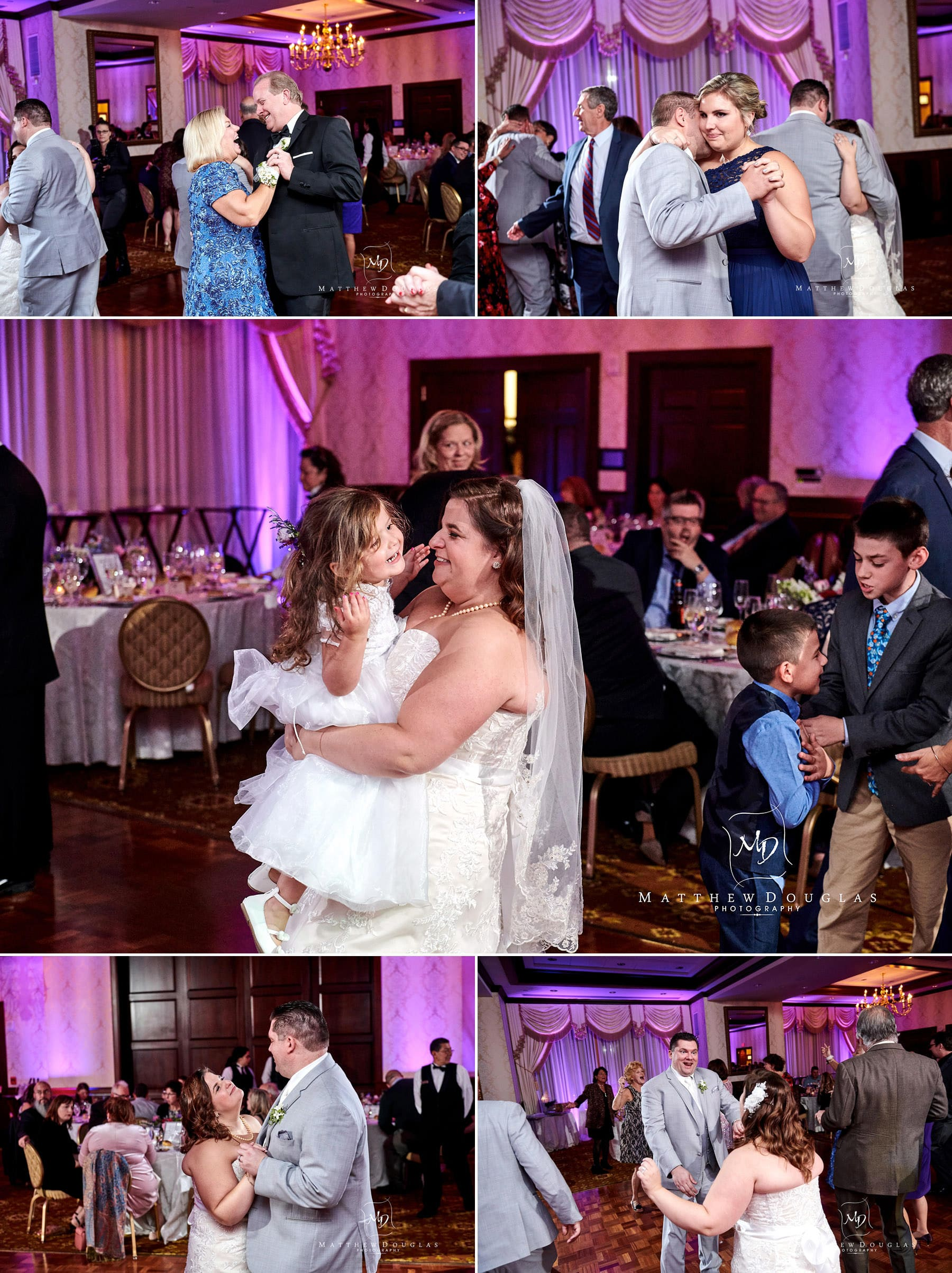 Nassau Inn wedding ballroom photos