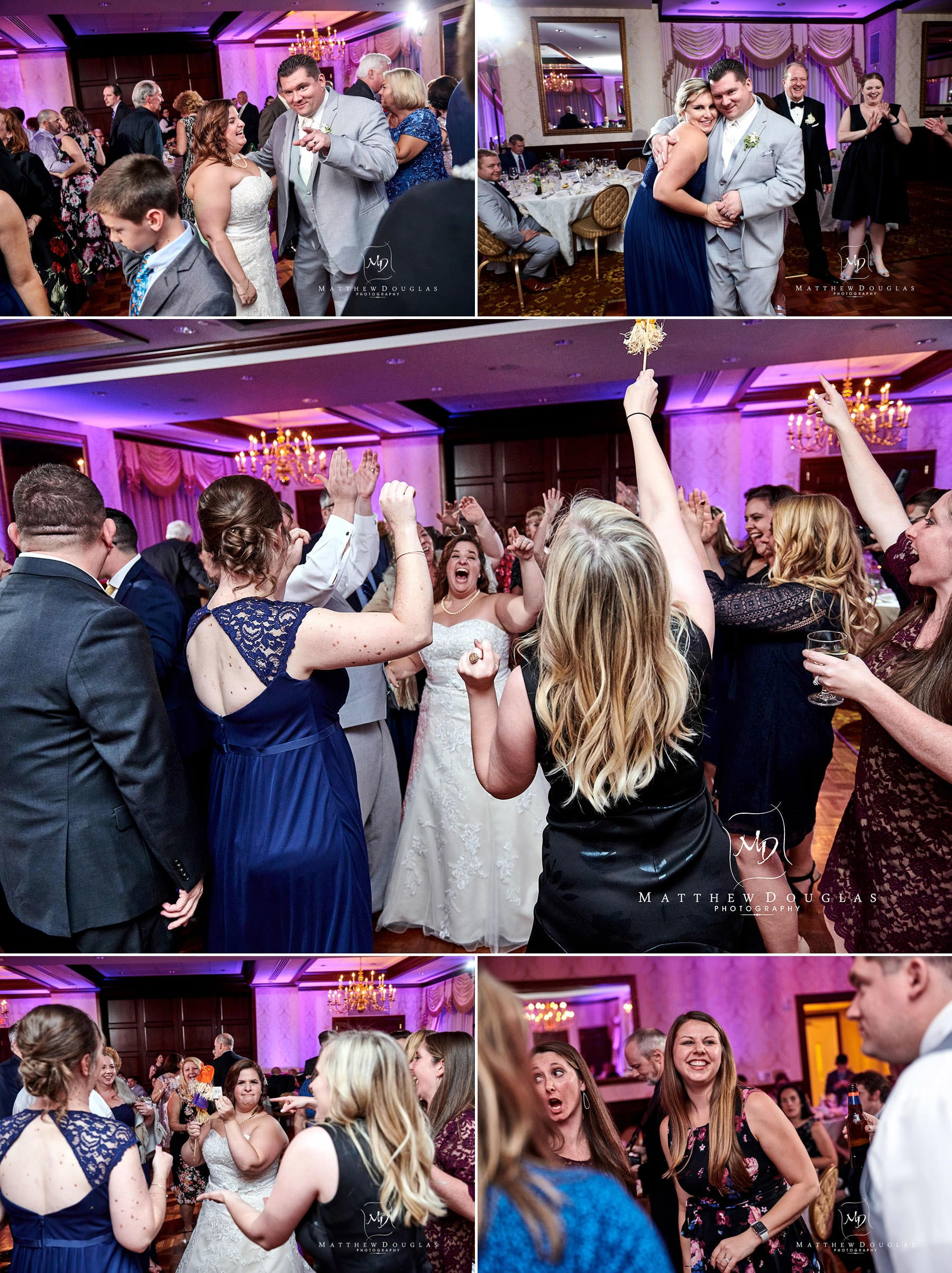 Nassau Inn wedding dancing photos