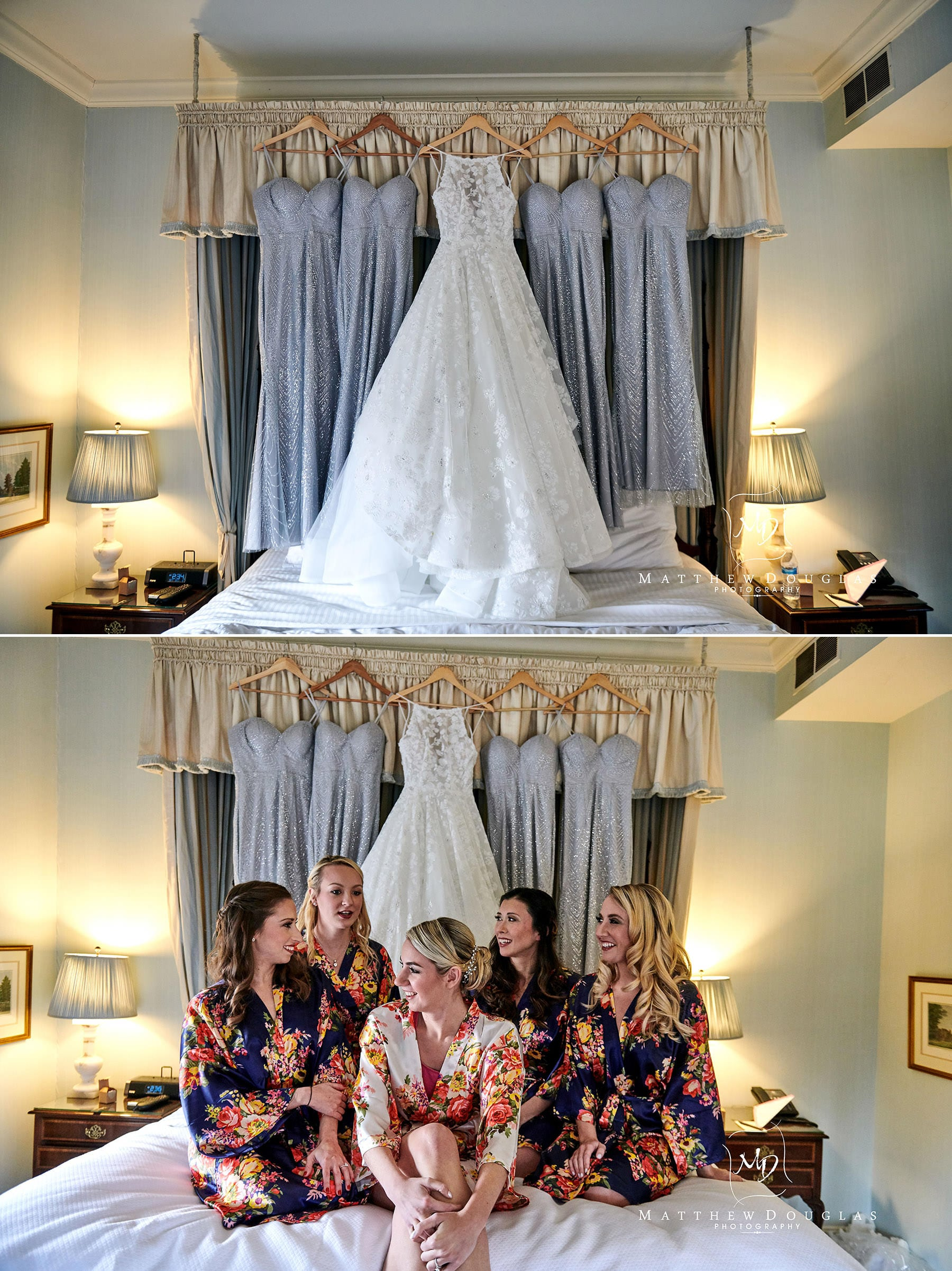 bridal suite at Bernards Inn
