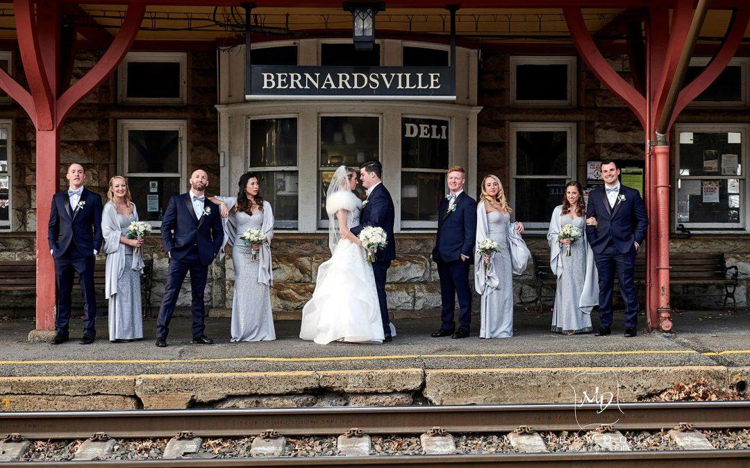 Winter Wedding at The Bernards Inn | Cori + Steven