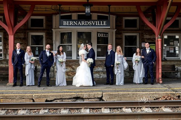 Winter Wedding at The Bernards Inn | Cori + Steven