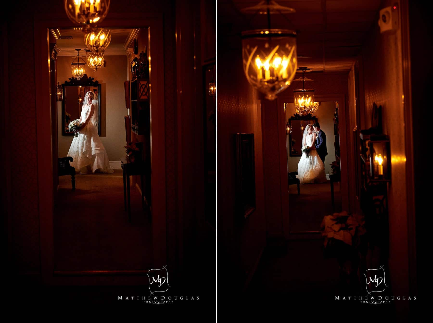 indooor wedding photos at the bernards inn