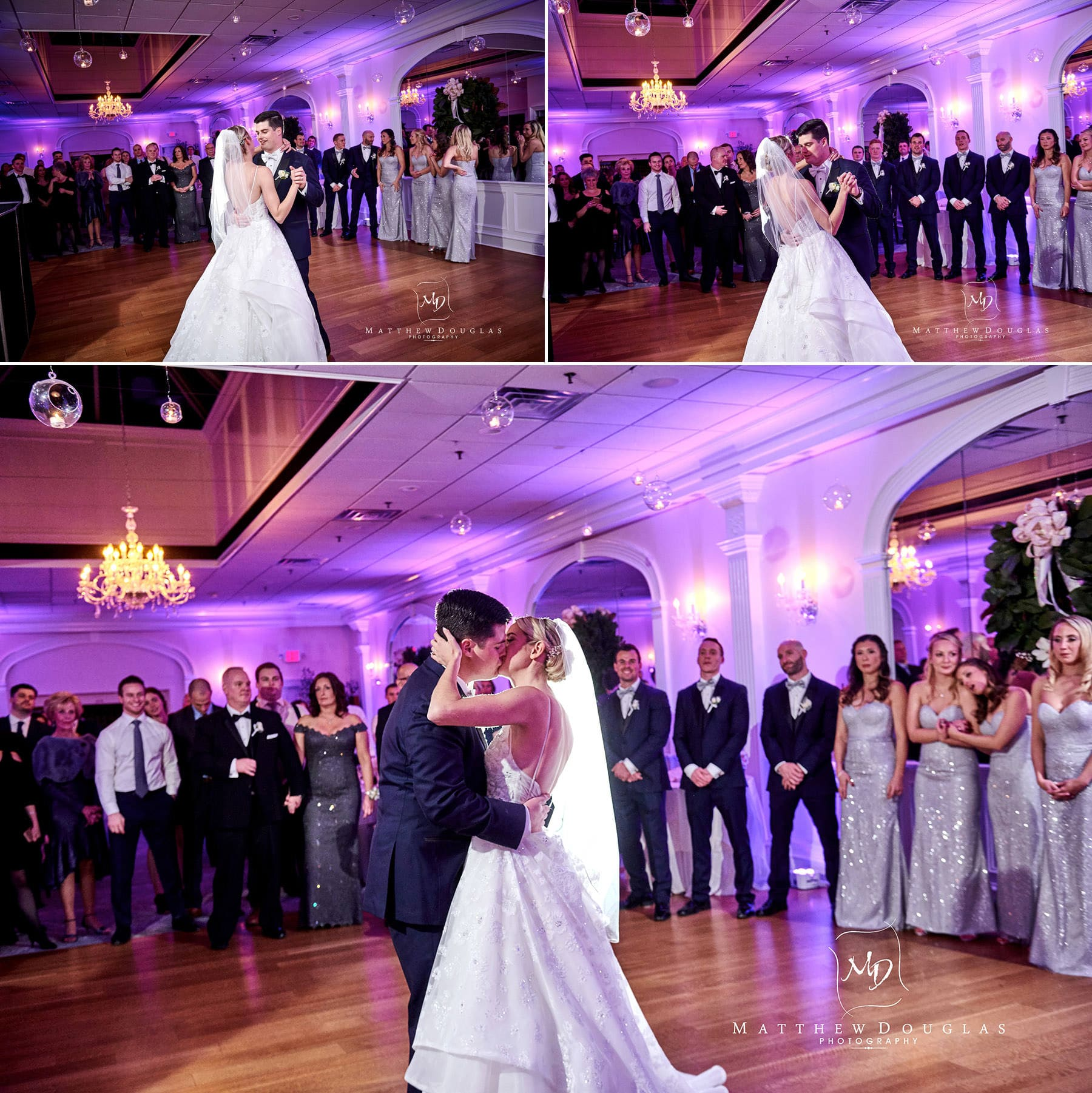 wedding first dance photos the bernards inn