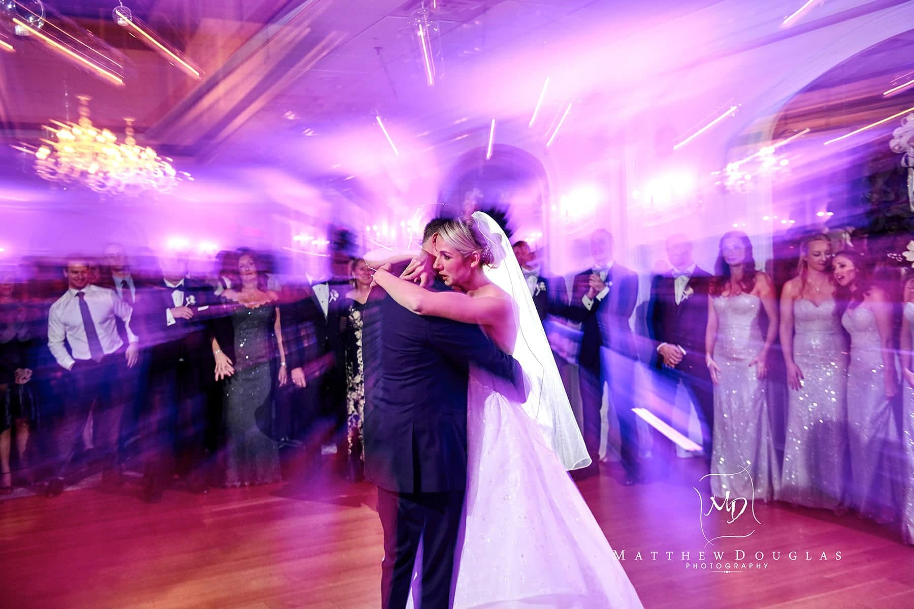 the bernards inn wedding first dance photo