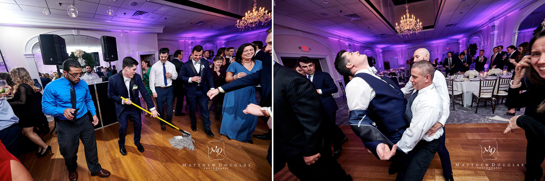 groom dancing photo at the bernards inn