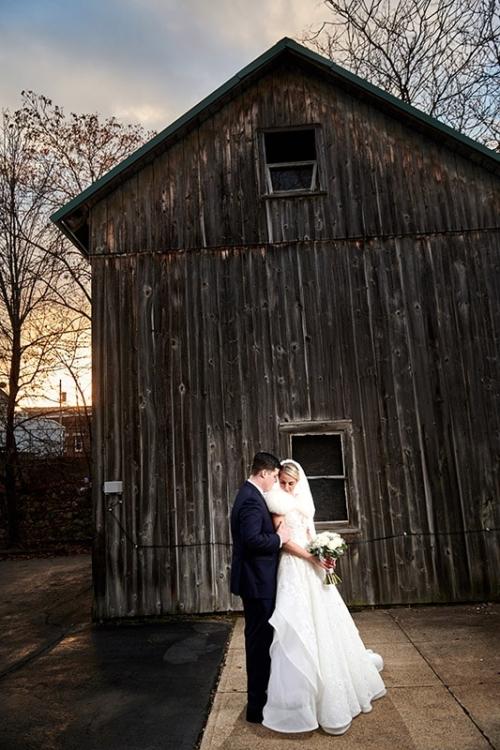 wedding photo at bernards inn