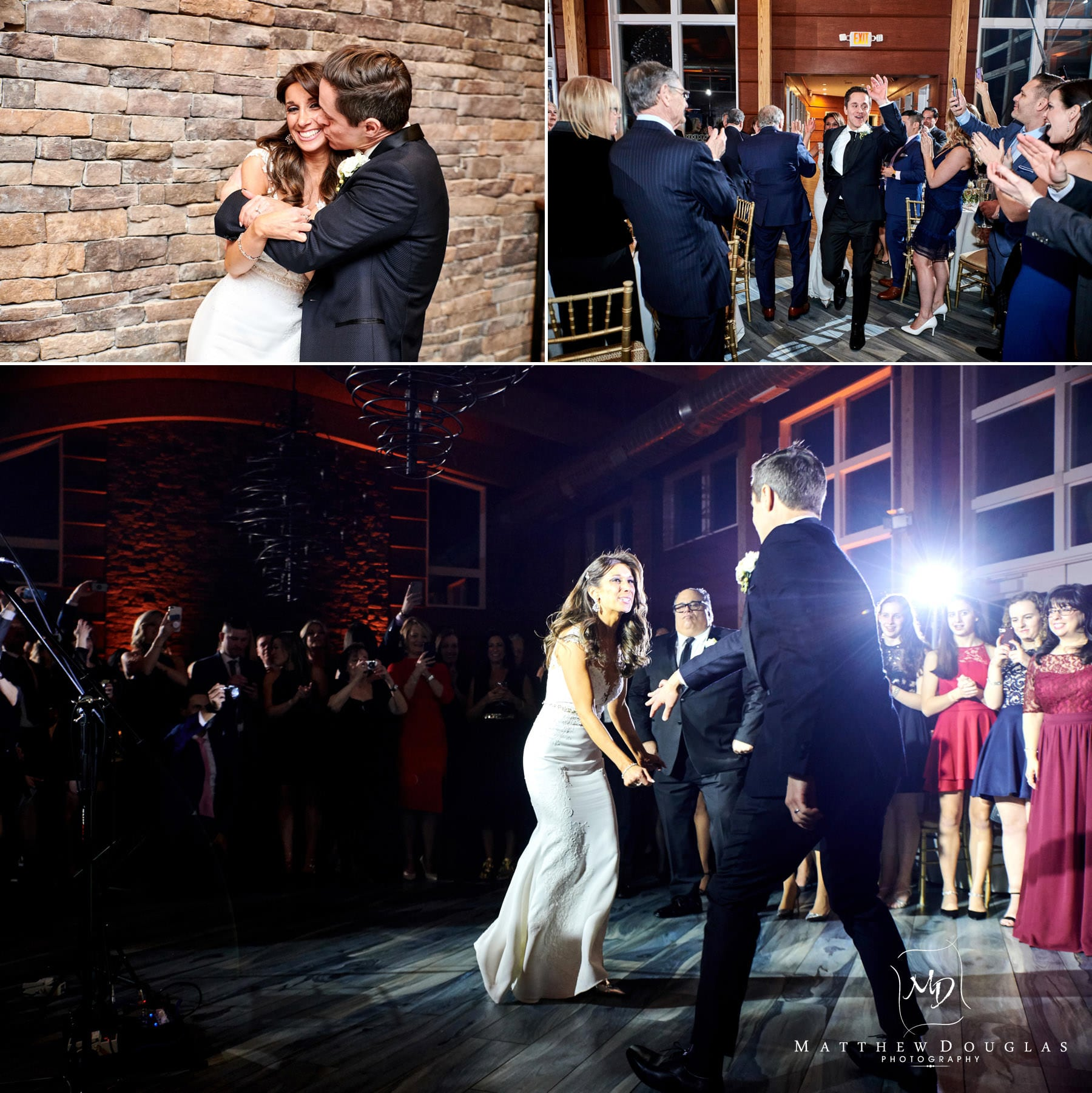 stone house at sterling ridge first dance photos
