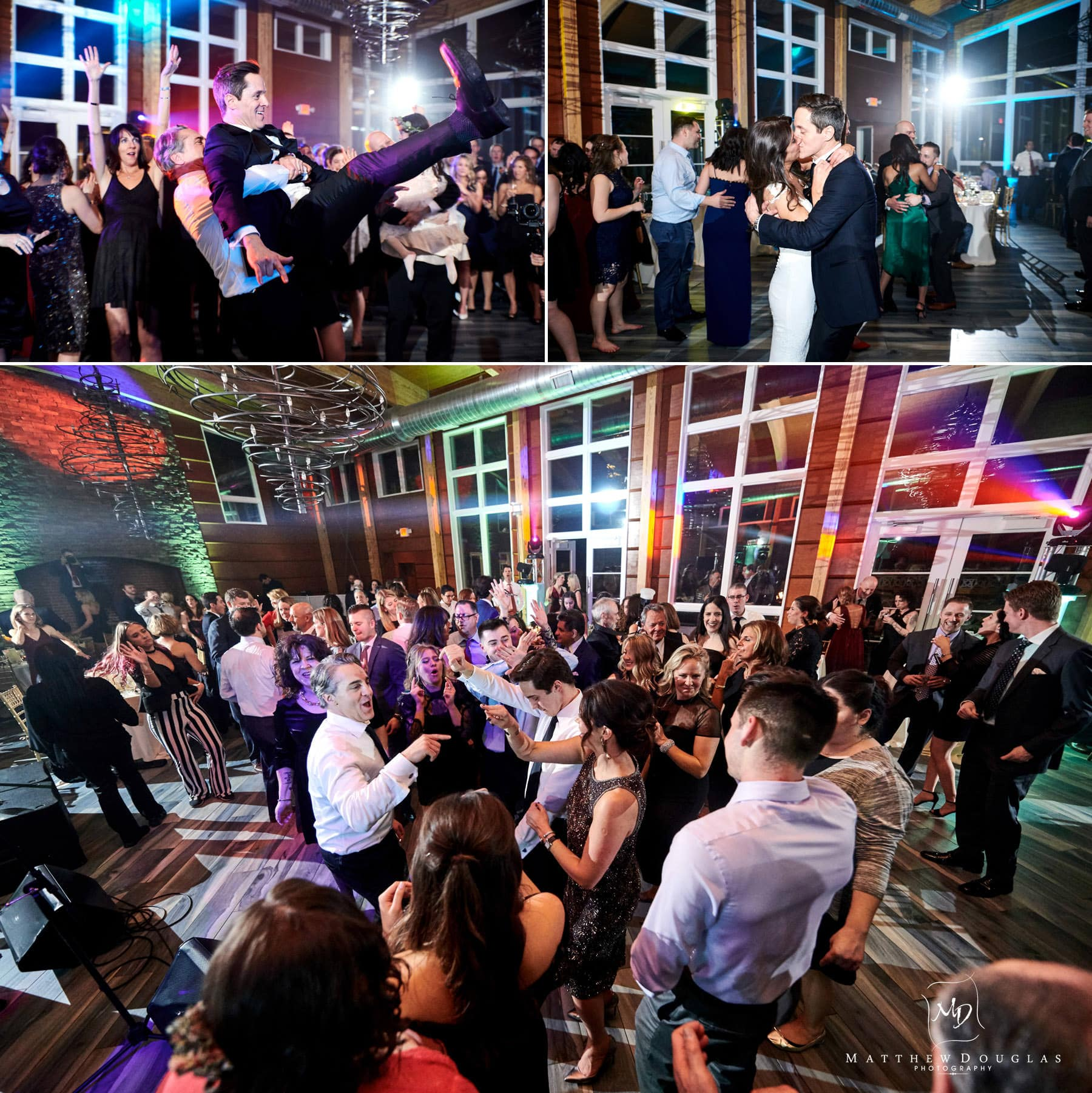 stone house at sterling ridge packed dance floor photos