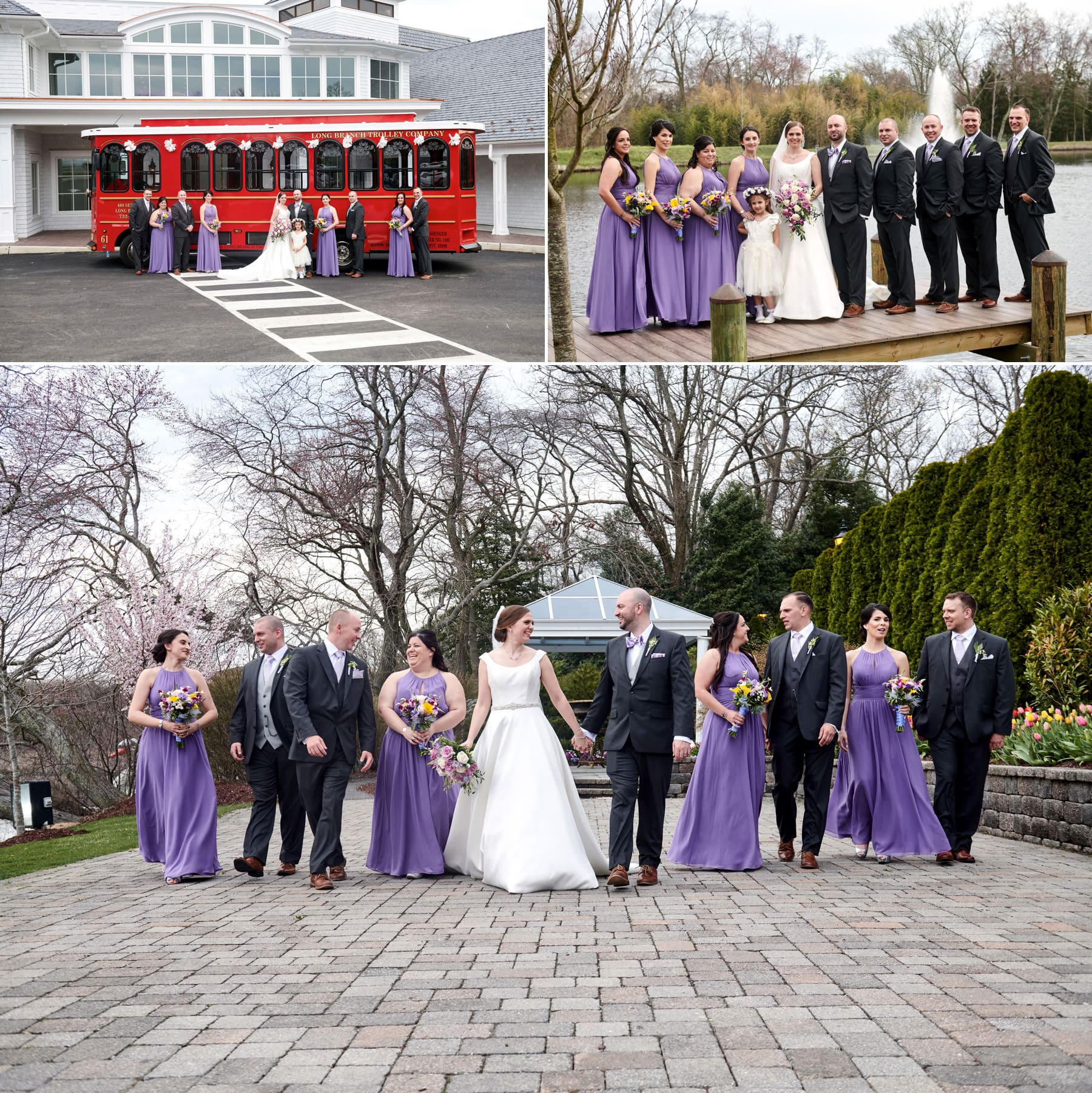 wedding photos at The Mill lakeside Manor
