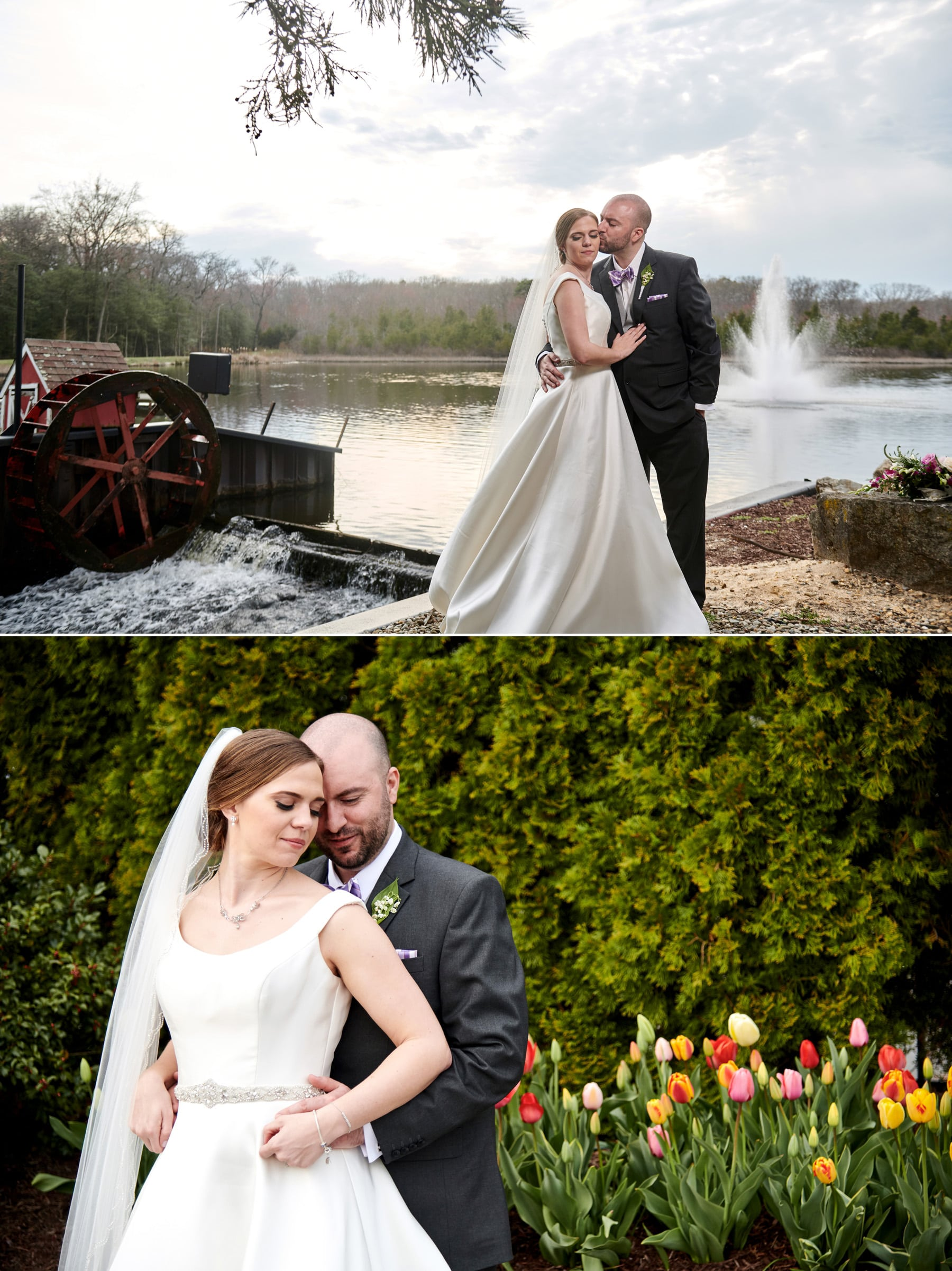 The Mill lakeside Manor spring wedding photos