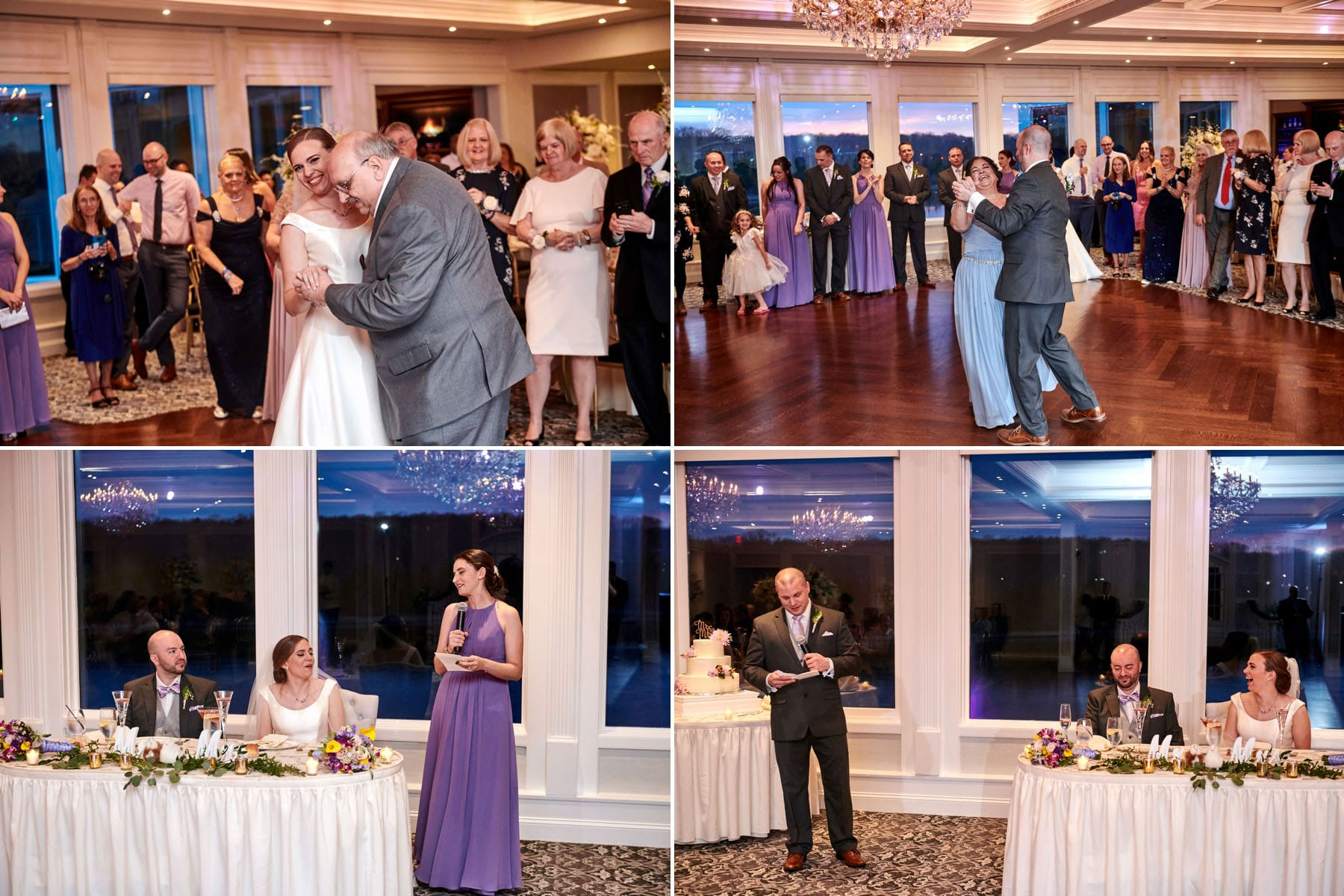 The Mill lakeside Manor wedding parent dance photos