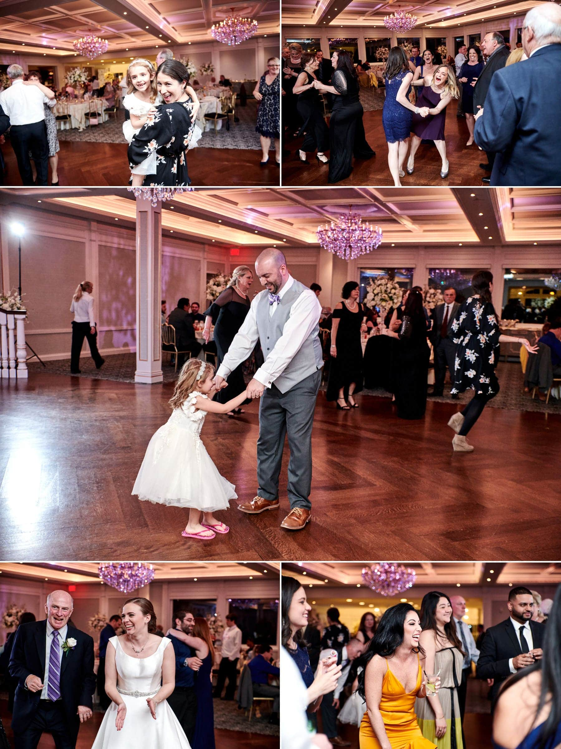wedding dancing at The Mill lakeside Manor