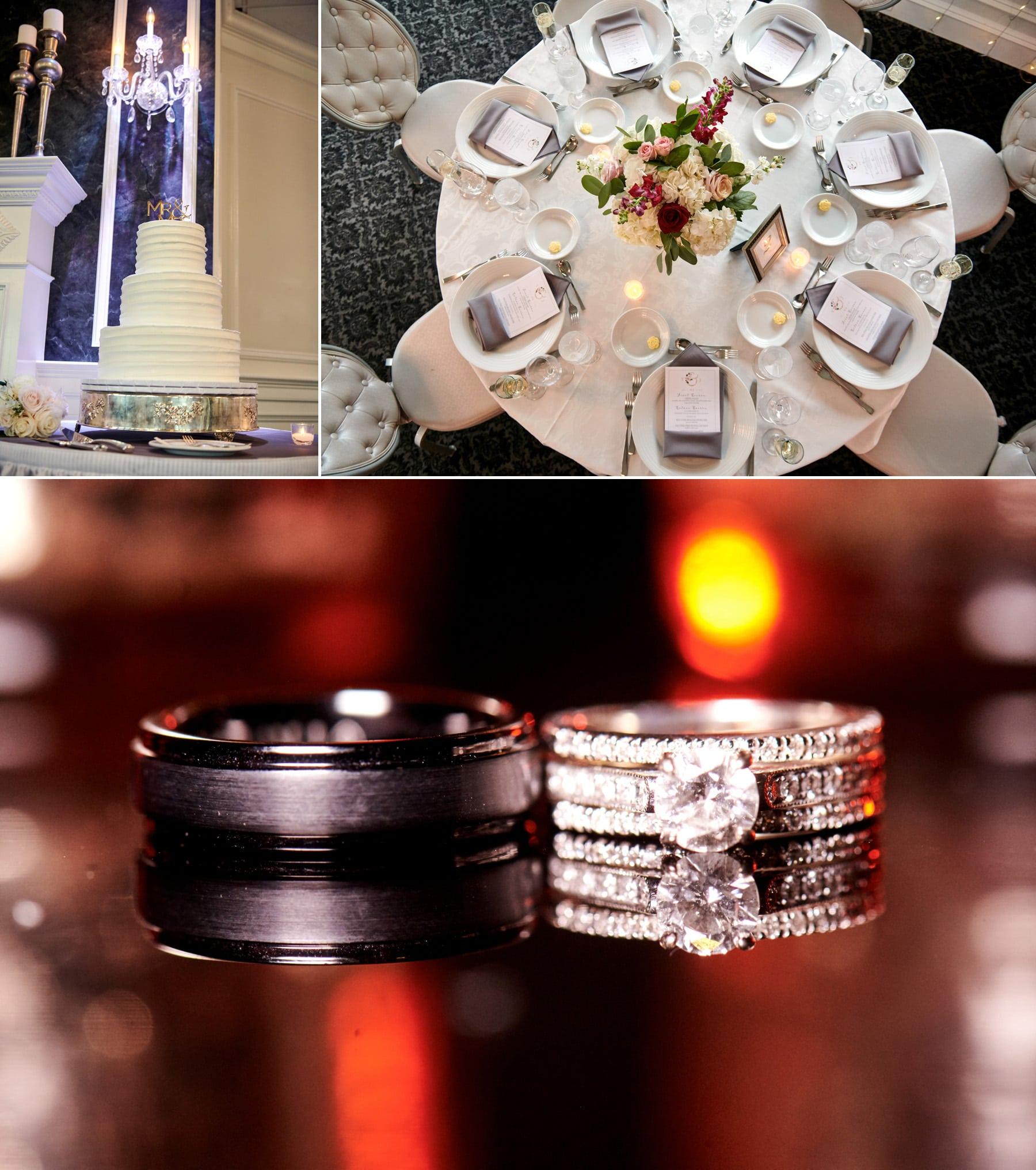 wedding detail photos basking ridge country club
