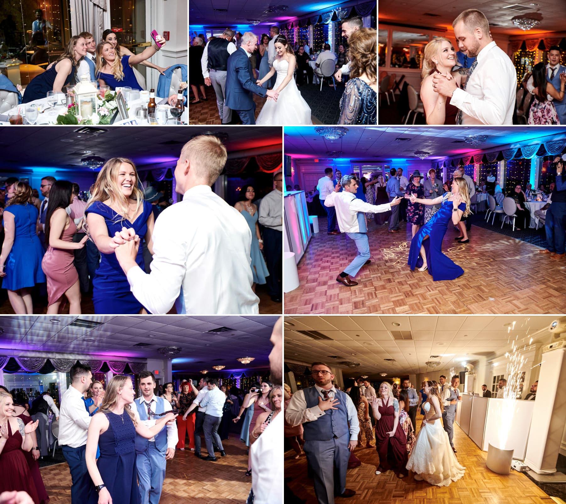 basking ridge country club wedding dancing photos