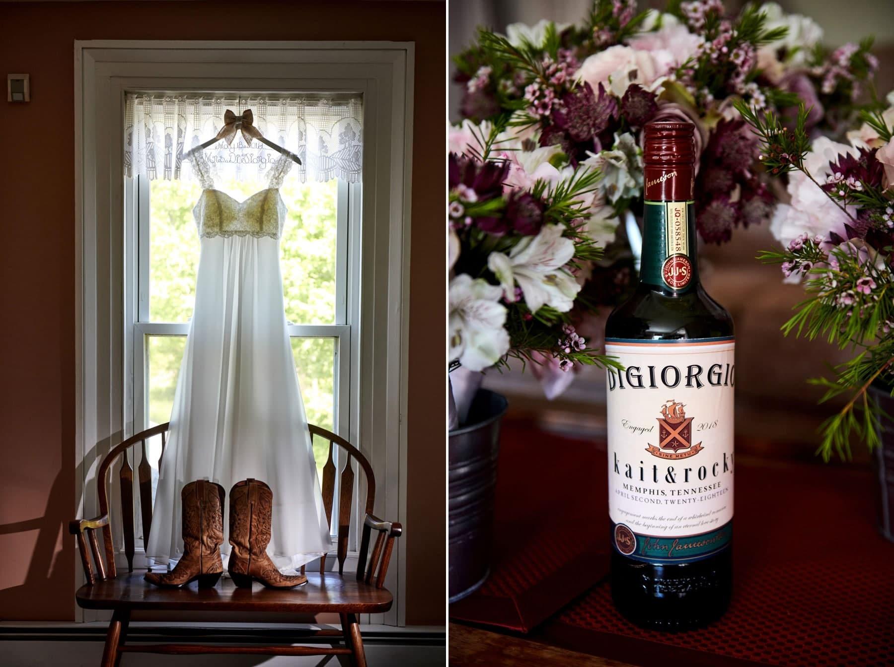 country wedding detail photos