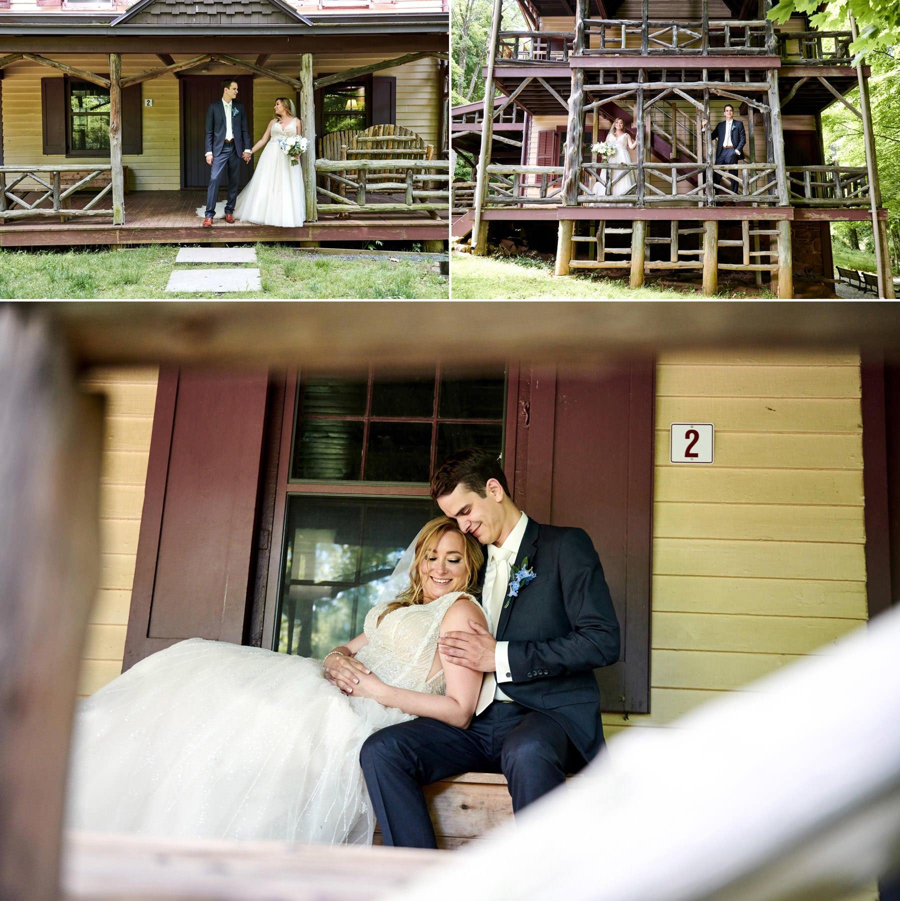 watchung deserted village wedding photos