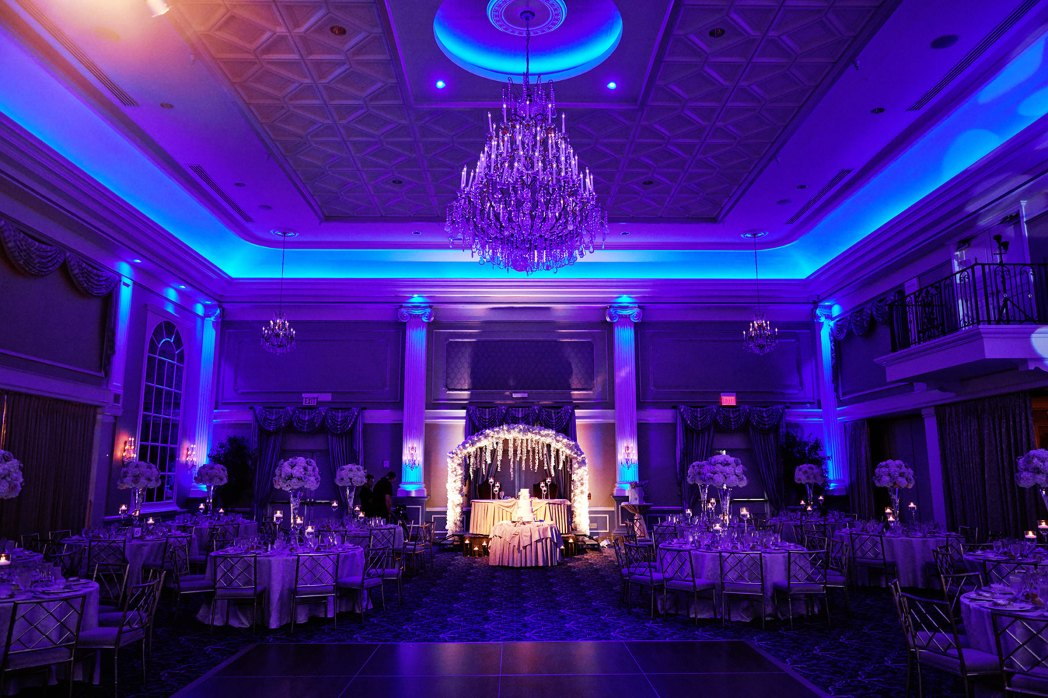east house wedding ballroom at The Palace at Somerset Park