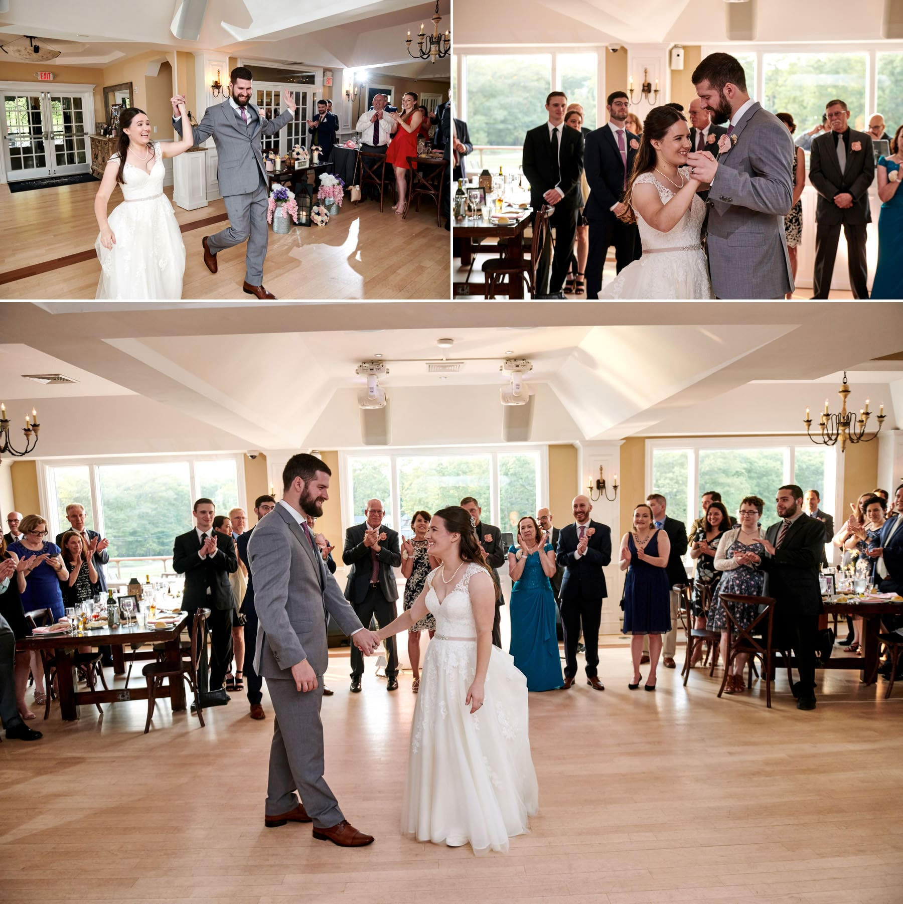 Rock Island Lake Club wedding first dance photos