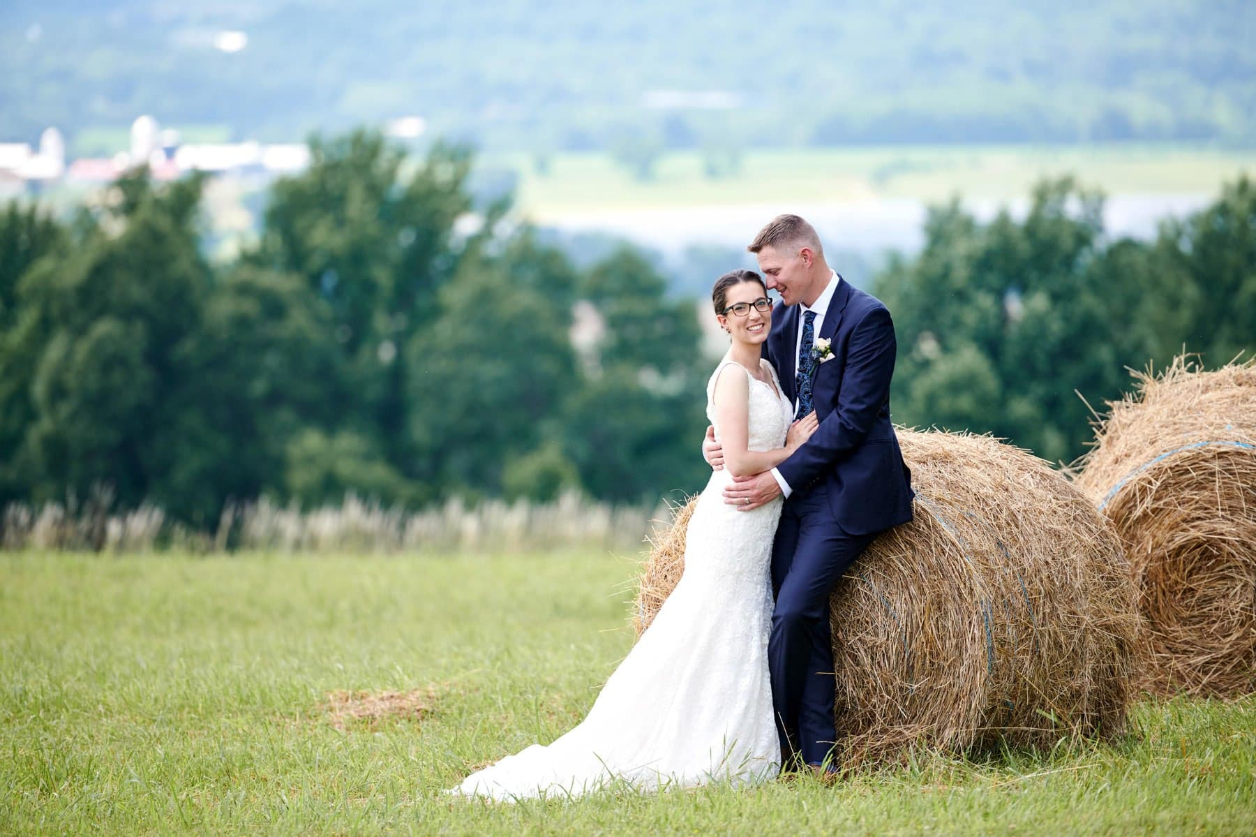 born to run farm wedding photo