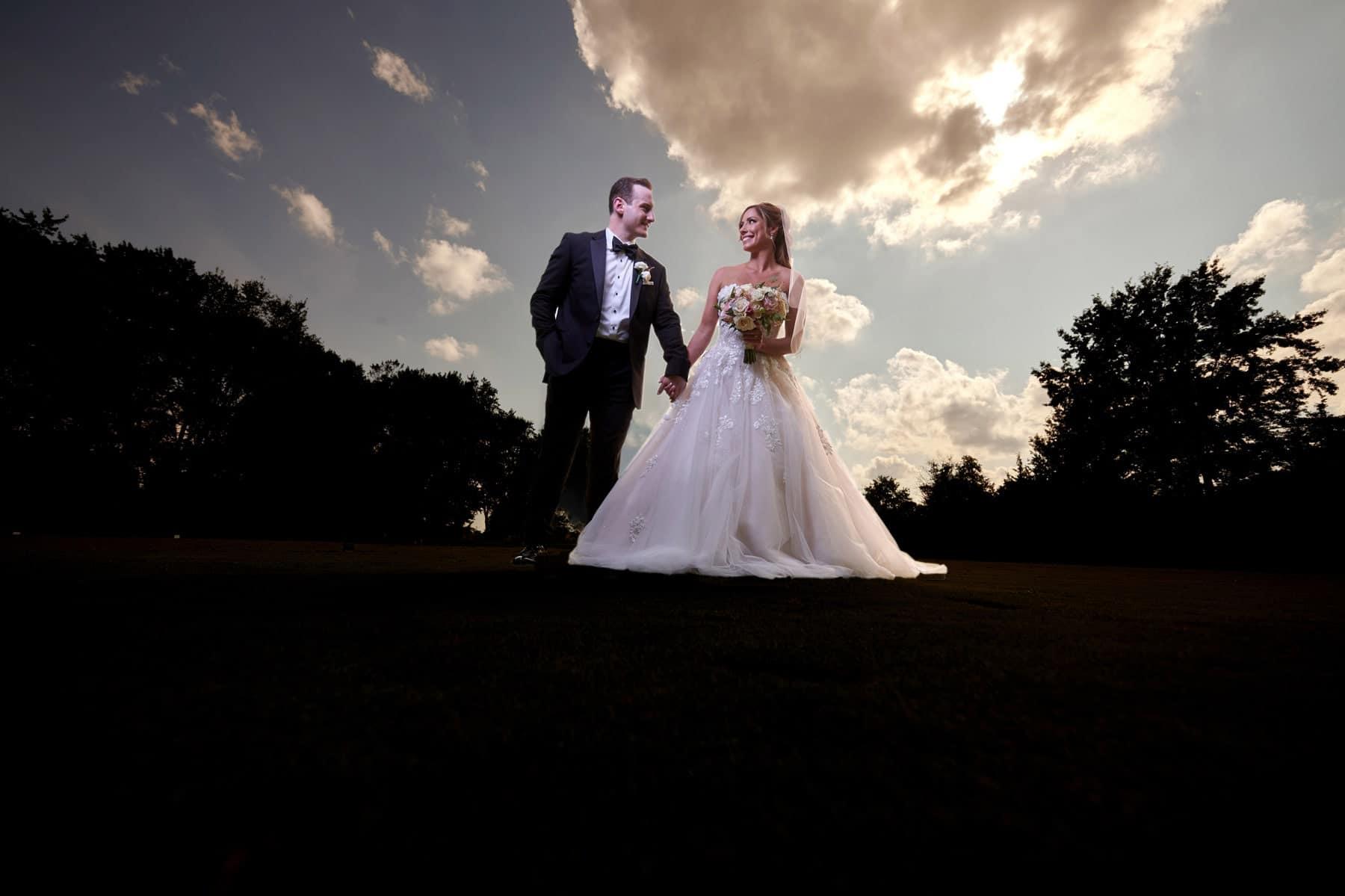 epic wedding photo Royce Brook Golf Club