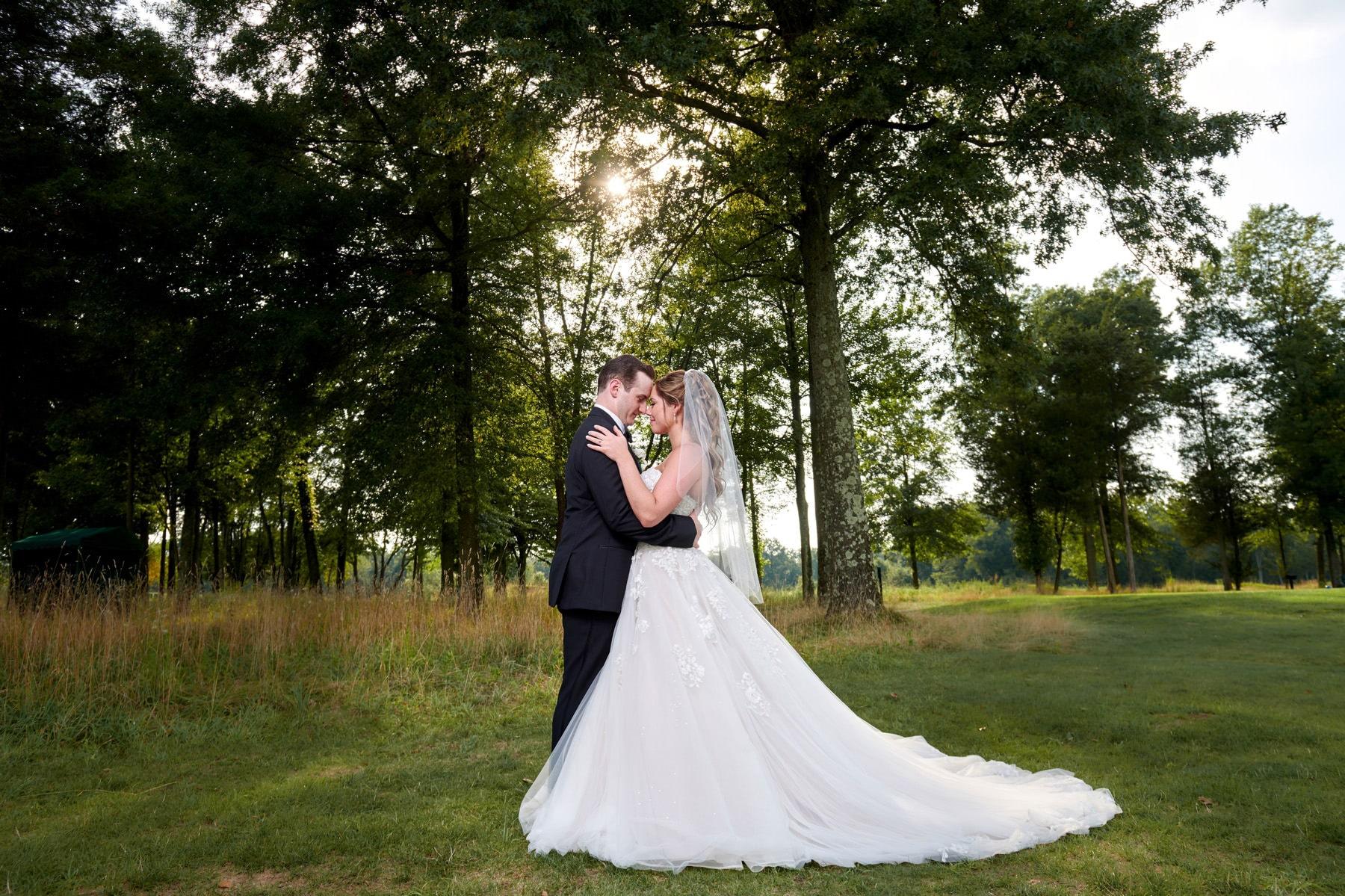 summer wedding at Royce Brook Golf Club