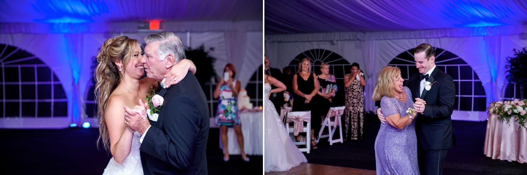 parent dance photos Royce Brook Golf Club