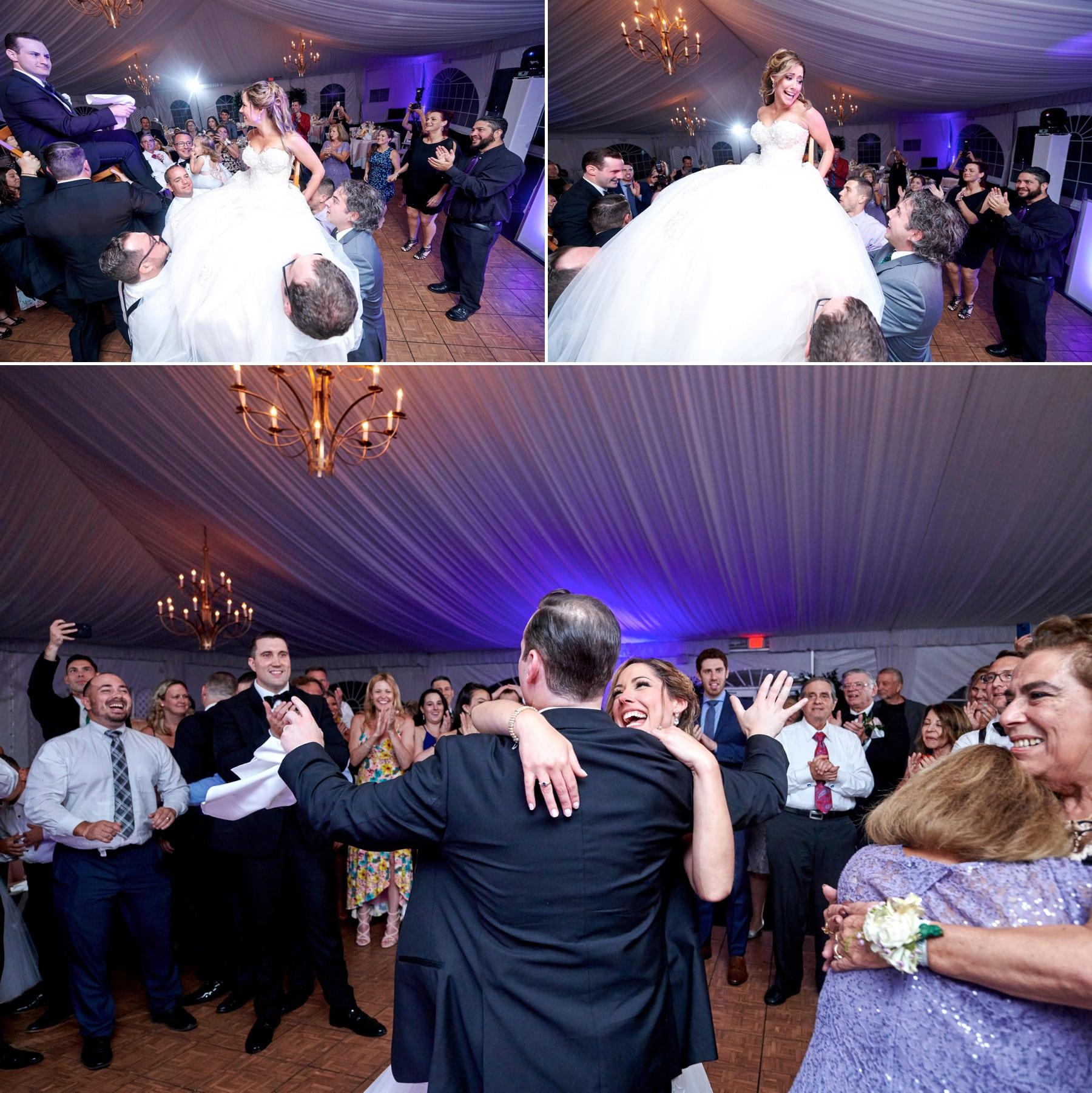 horrah dancing photos at Royce Brook Golf Club