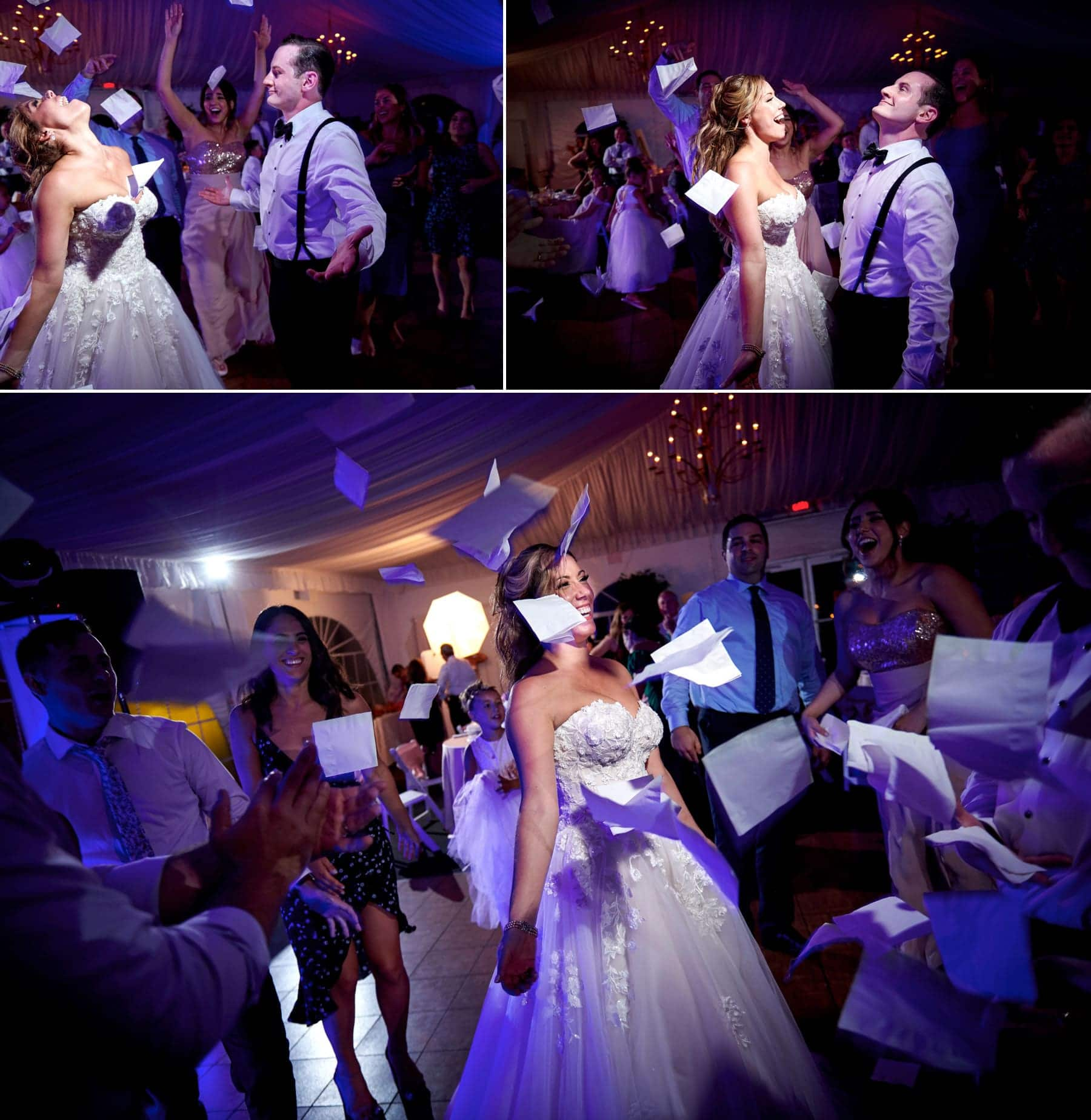 wedding reception photos at Royce Brook Golf Club