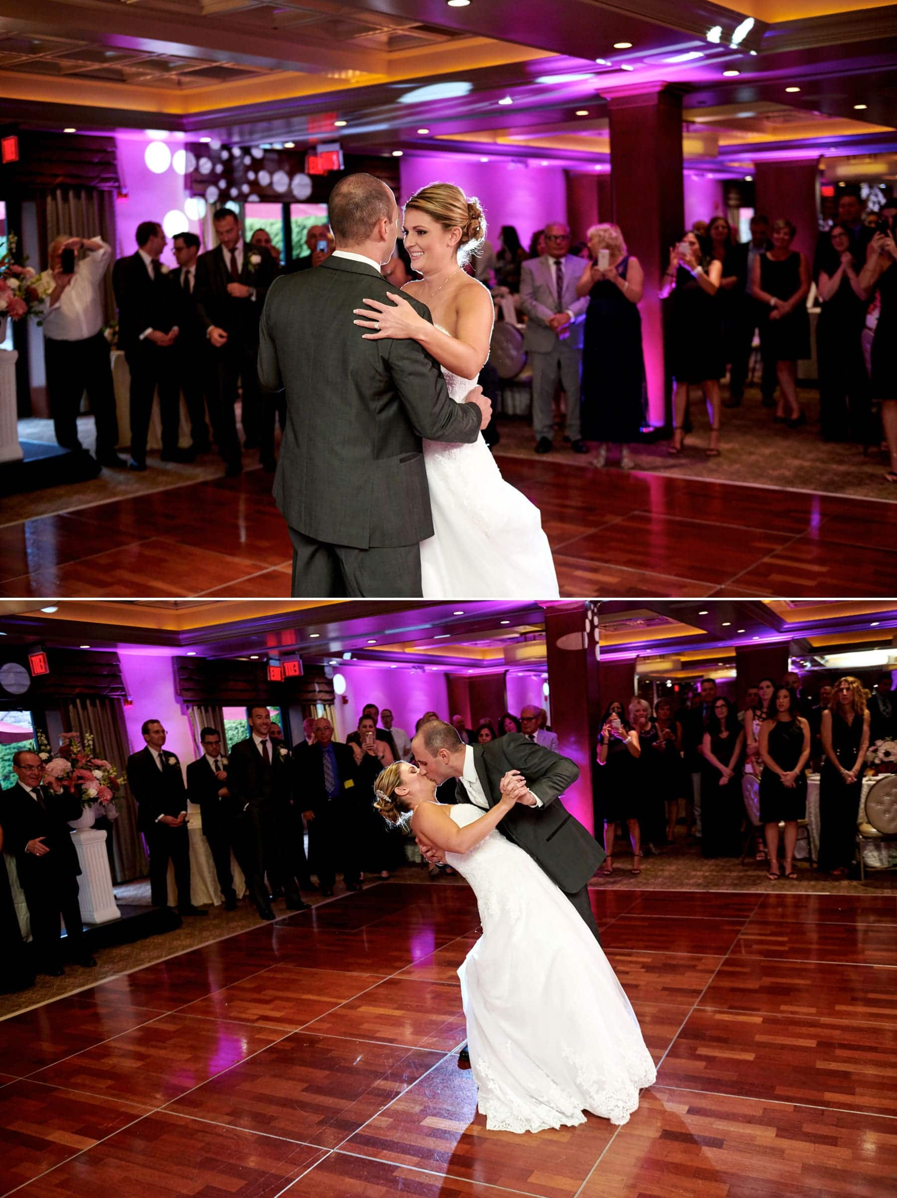 wedding first dance photos at The Imperia