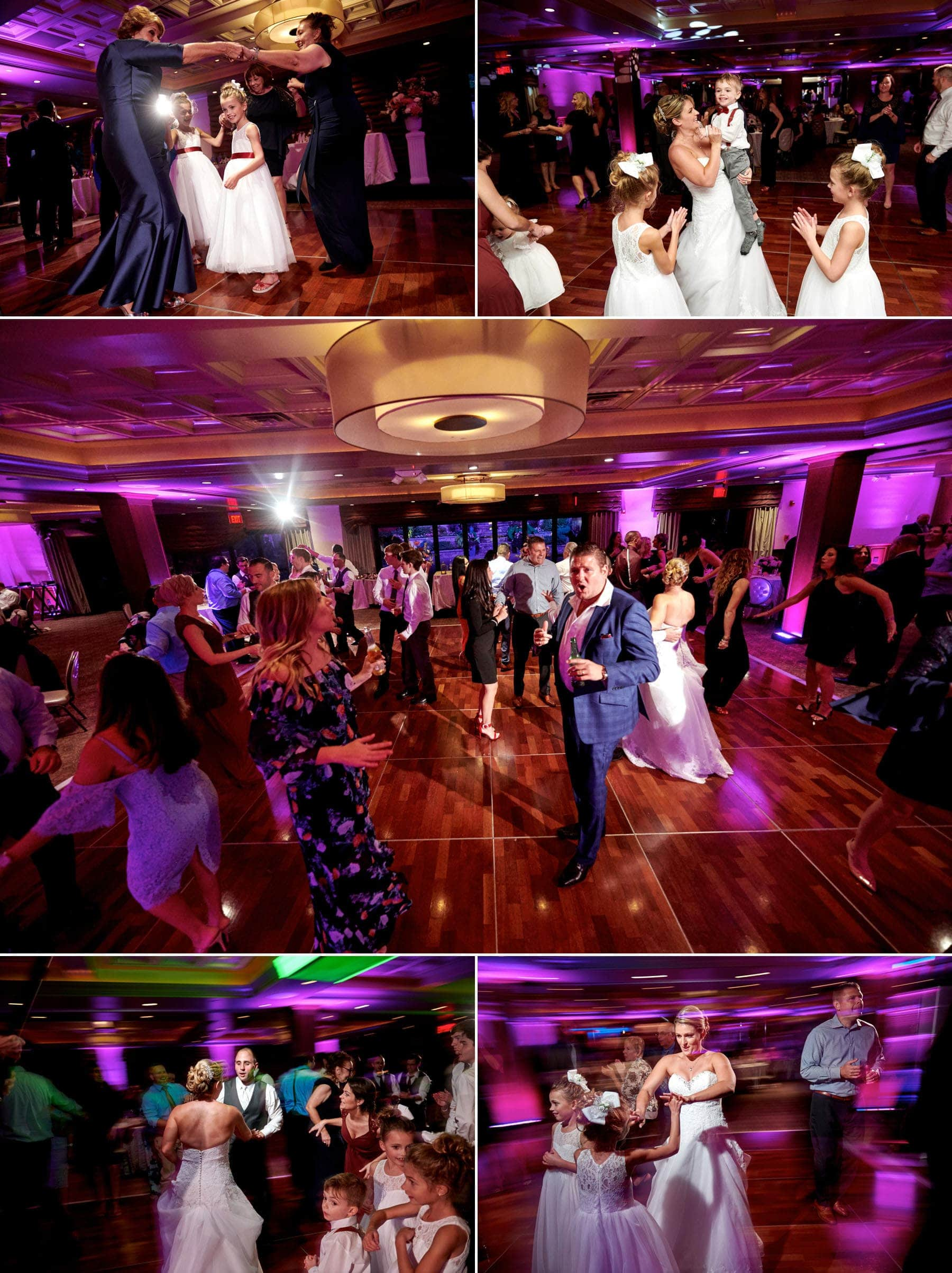 wedding guests dancing photos at The Imperia