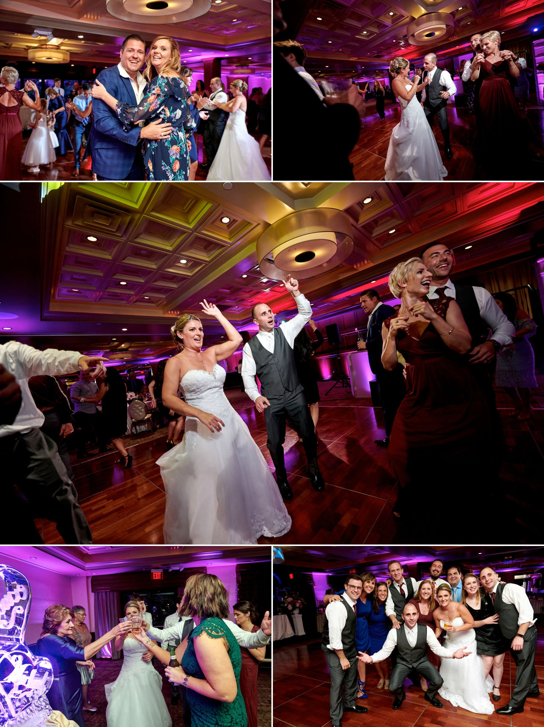 wedding reception photos at The Imperia