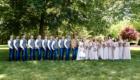 rustic farm wedding photo