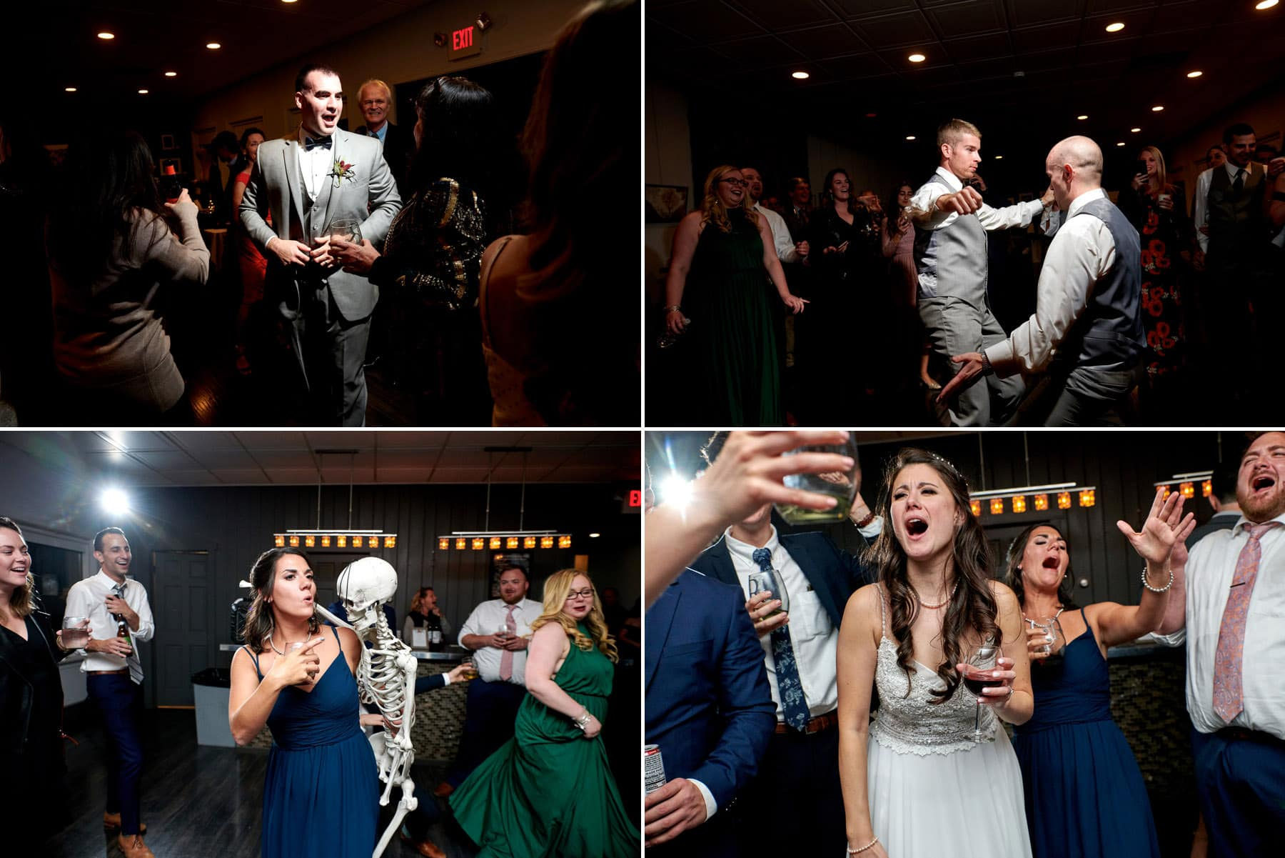 old york cellars wedding reception photos