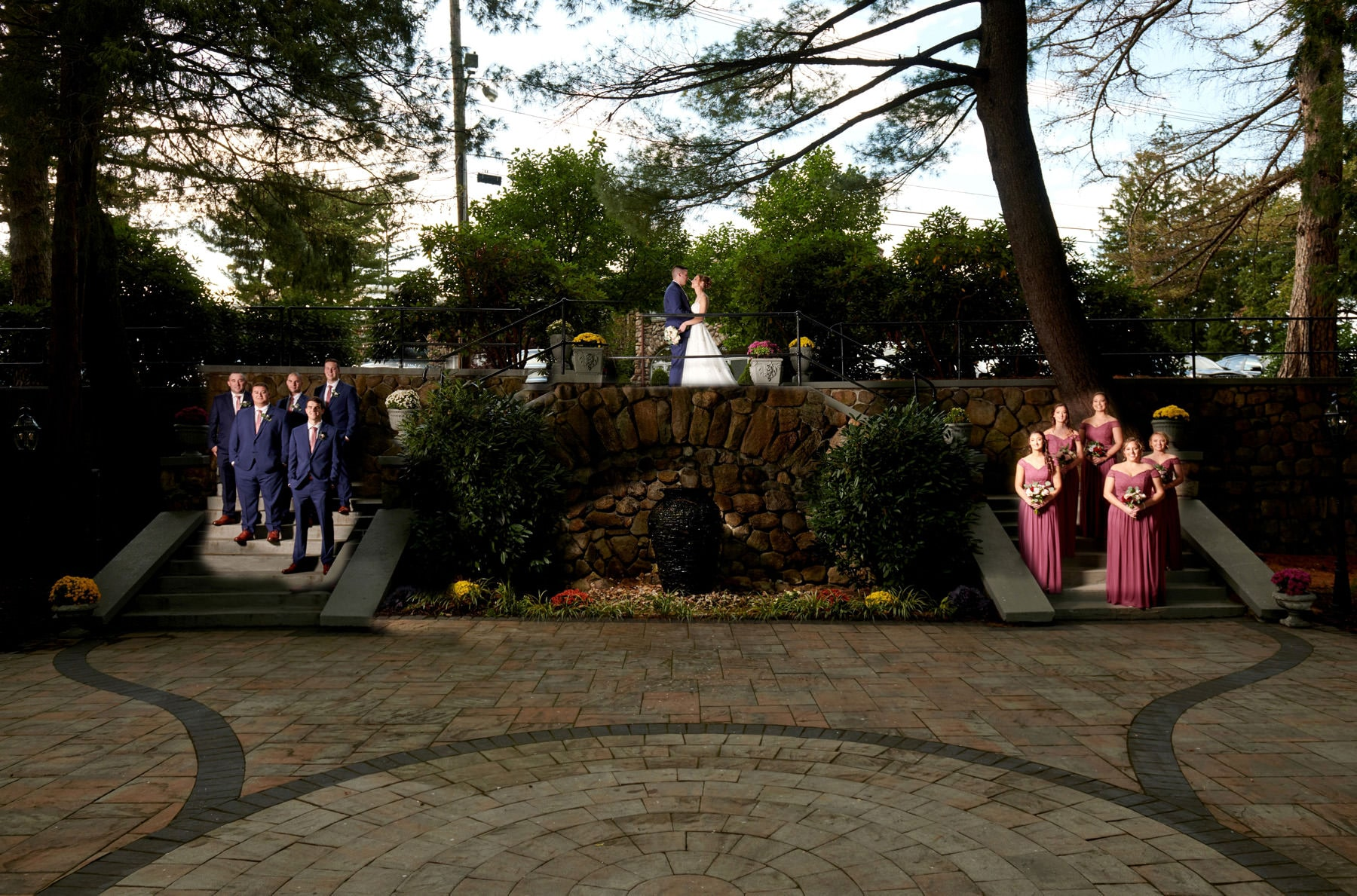 ramsey country club wedding photo