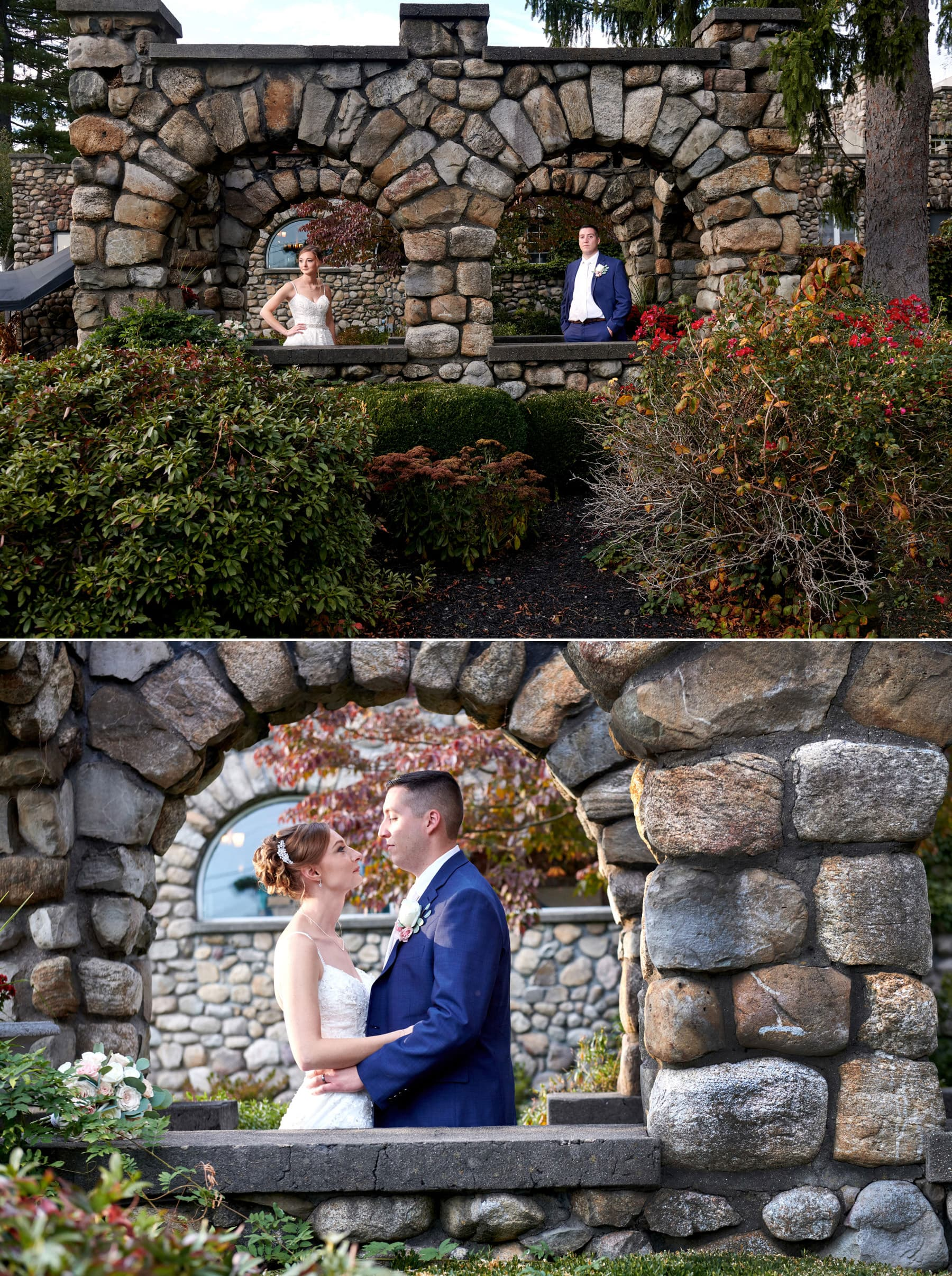 ramsey country club wedding pictures