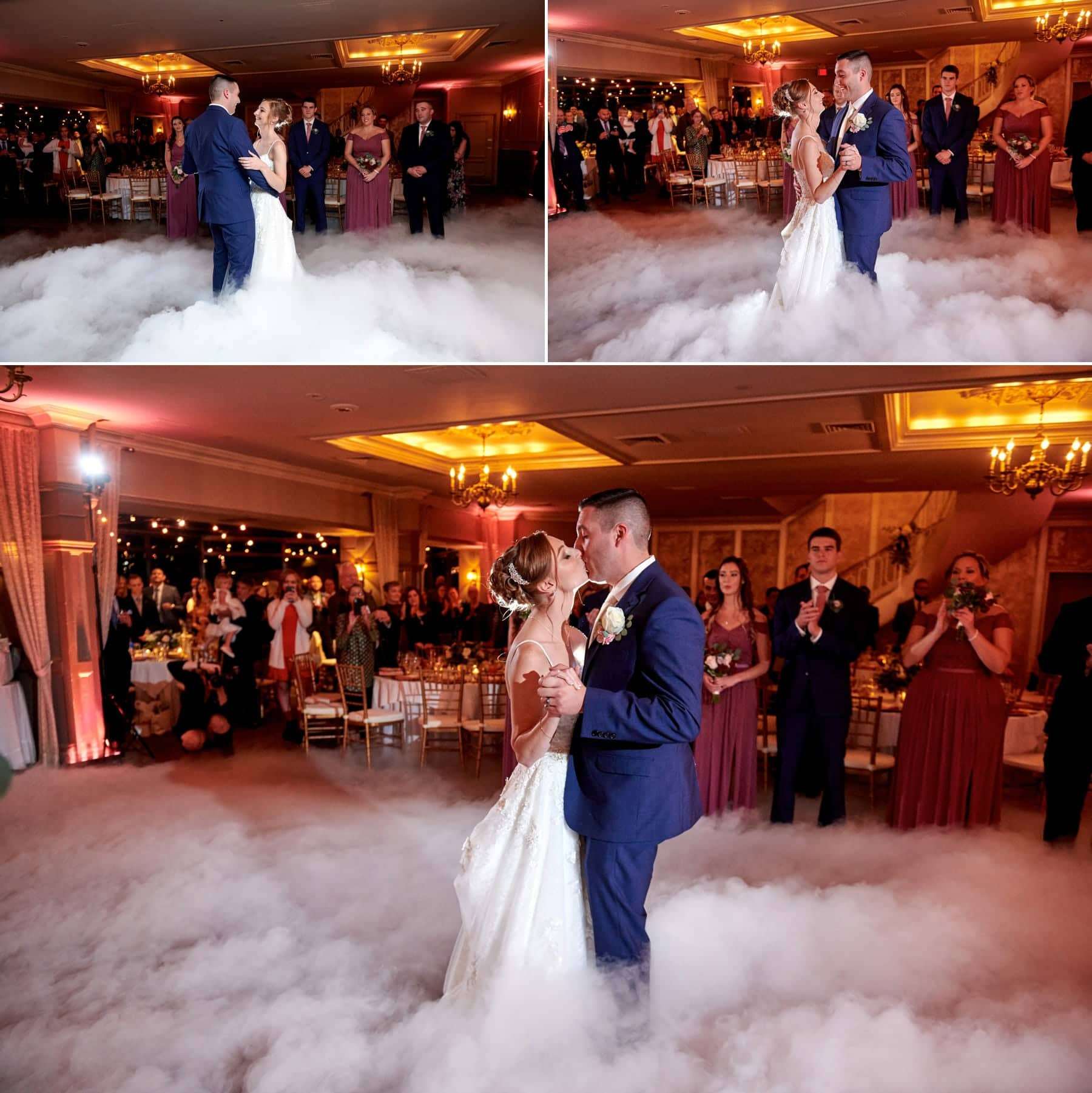 ramsey country club wedding first dance photos