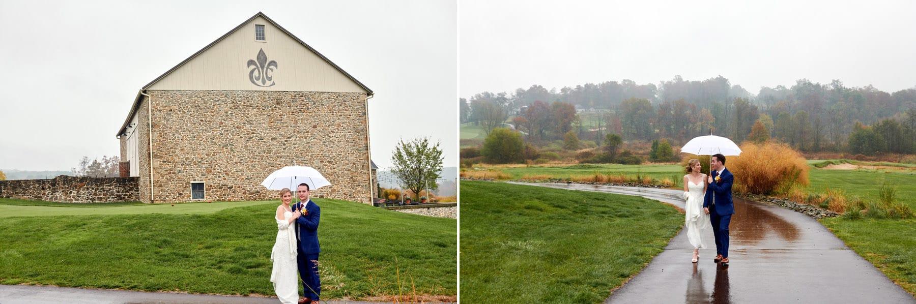 French Creek Golf Club wedding