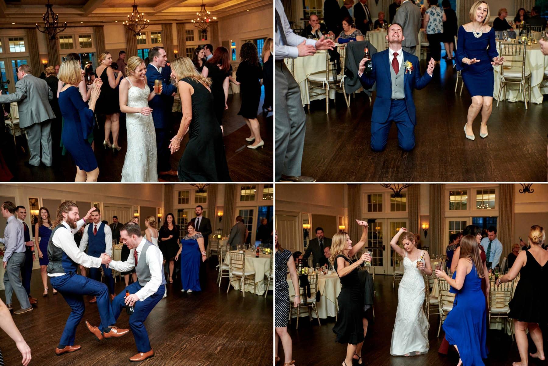 wedding dancing photos at French Creek Golf Club